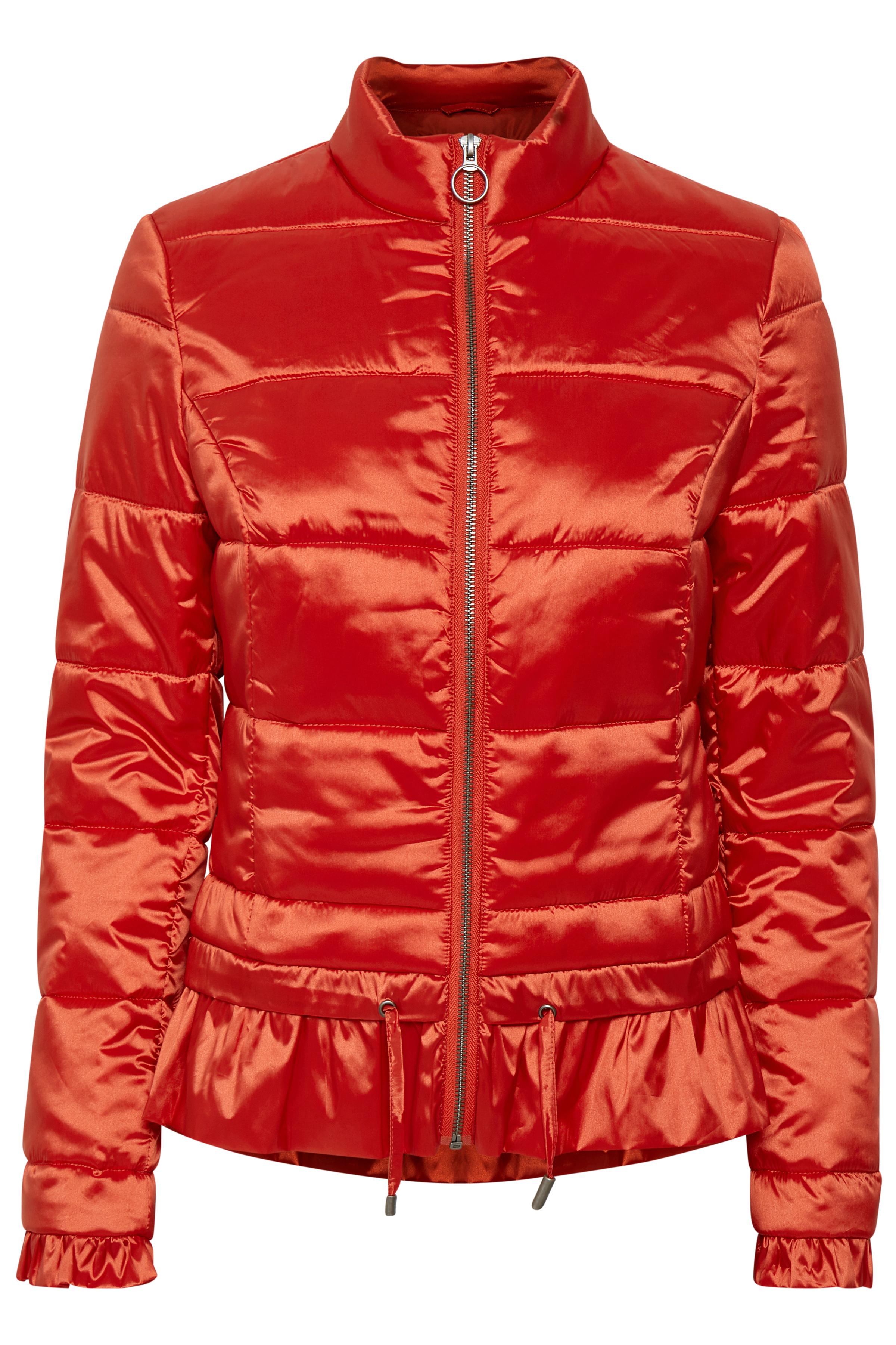 Cream Dame Kort og let jakke - Rød