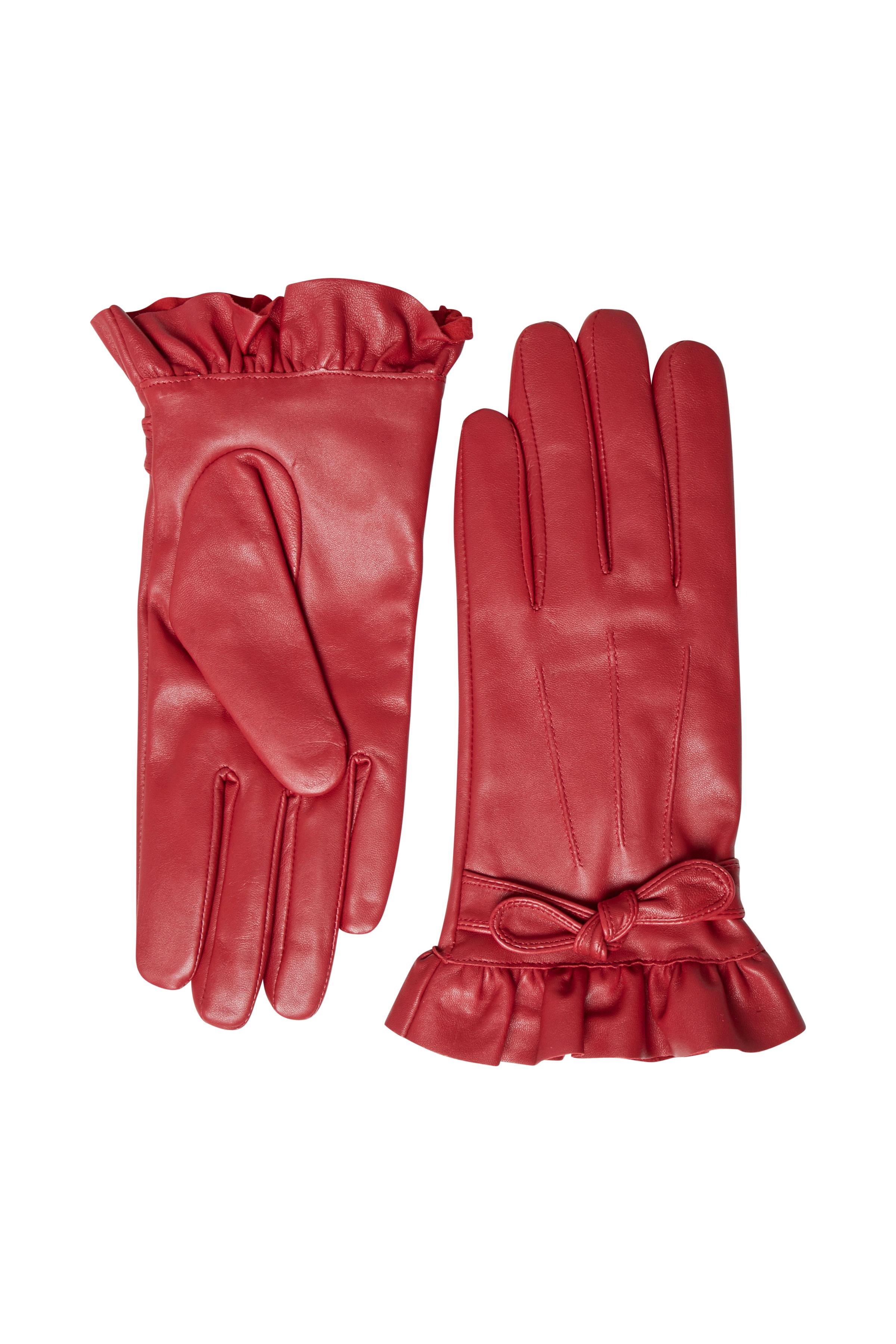 Rød Handsker fra Cream Accessories – Køb Rød Handsker fra str. S/M-L/XL her