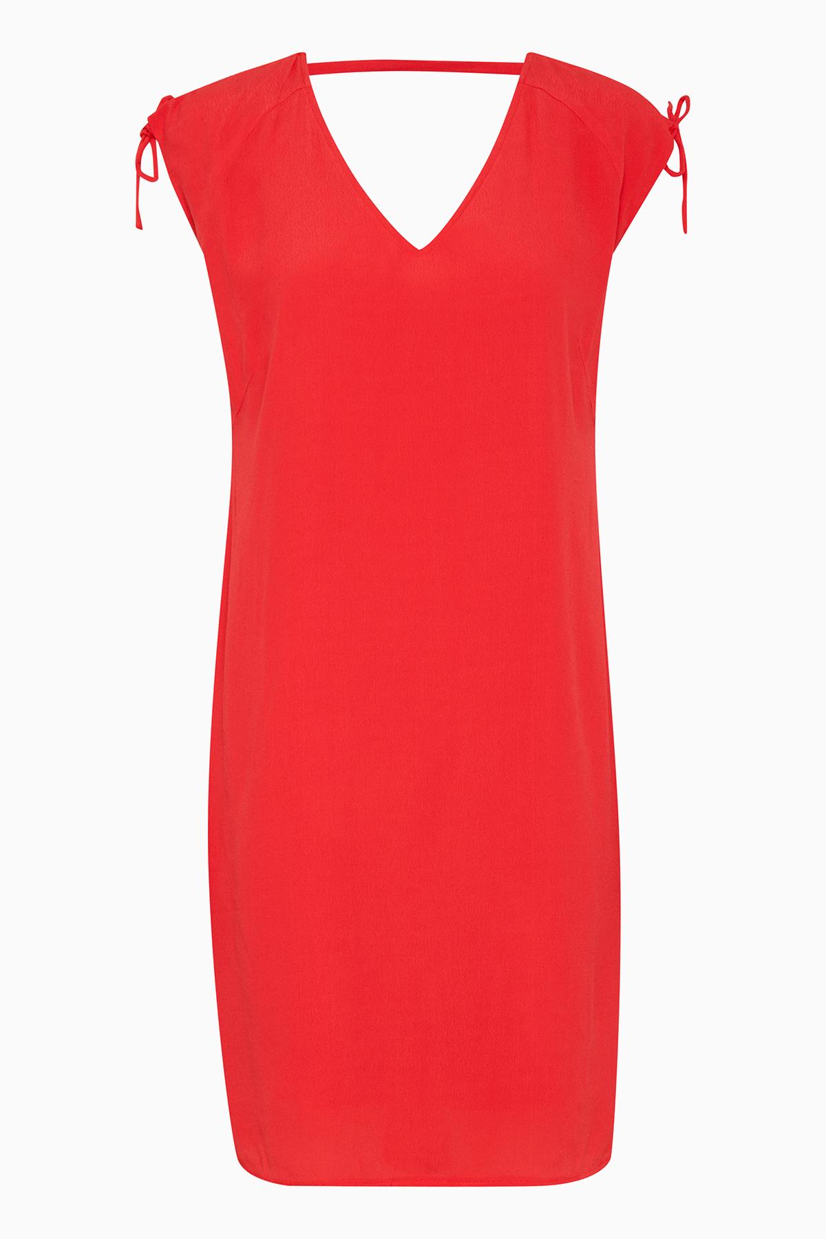 b.young Dame Flot Iritta kjole - Rød