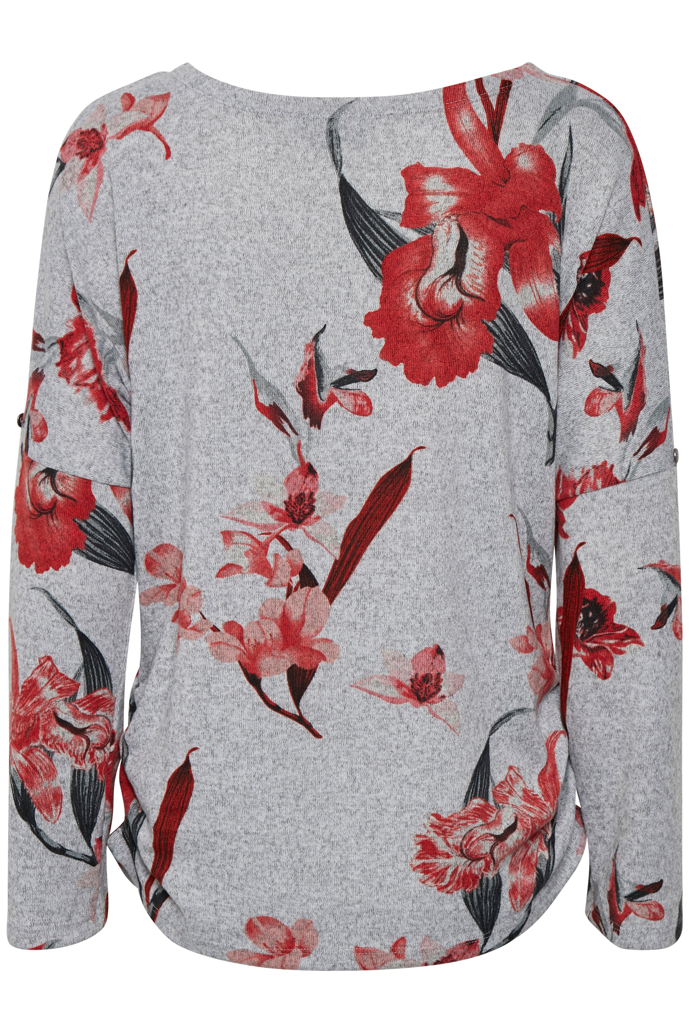 Rød Langærmet T-shirt fra b.young – Køb Rød Langærmet T-shirt fra str. L-XXL her
