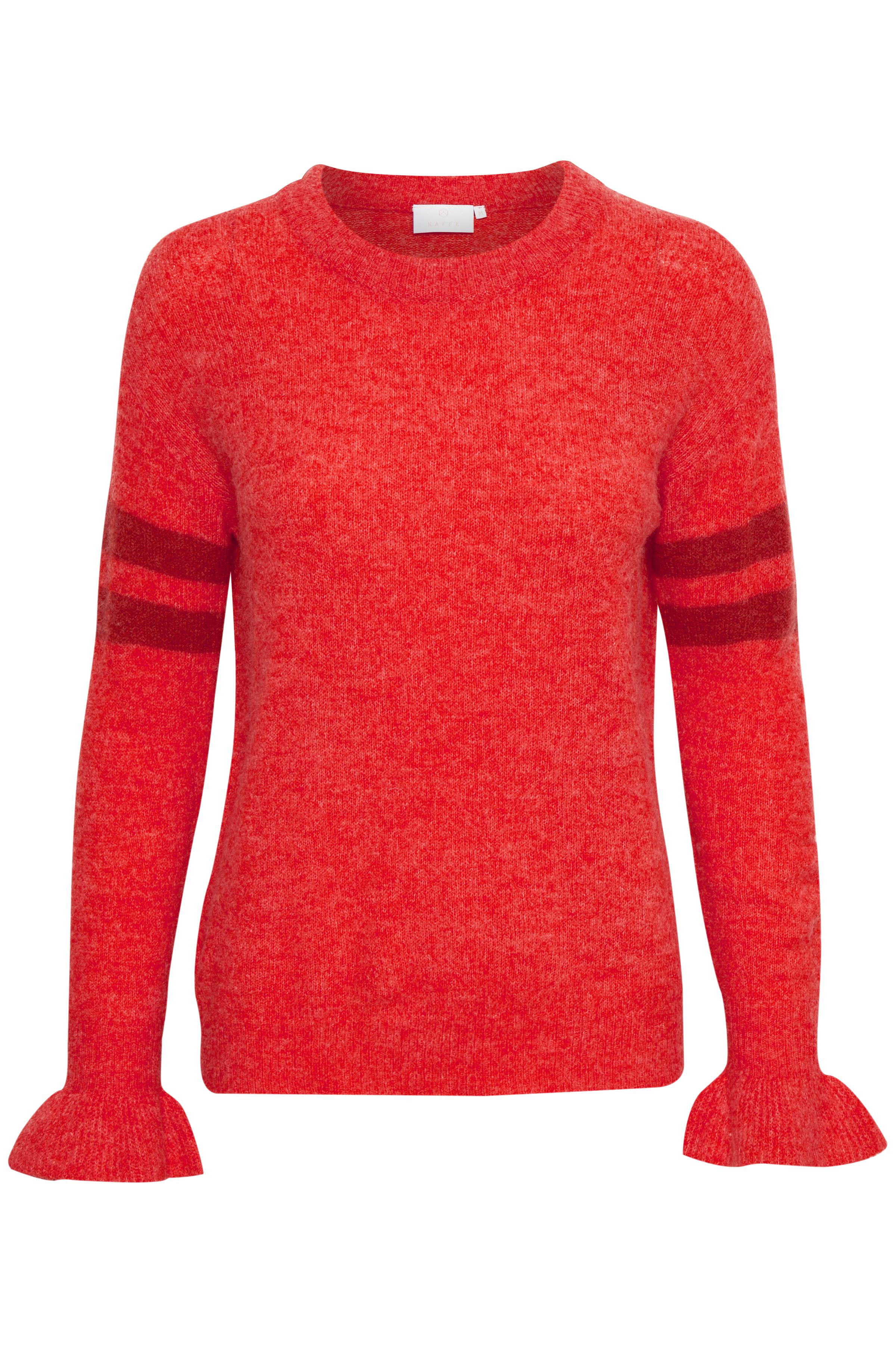 Rood Gebreide pullover van Kaffe – Door Rood Gebreide pullover van maat. XS-XXL hier