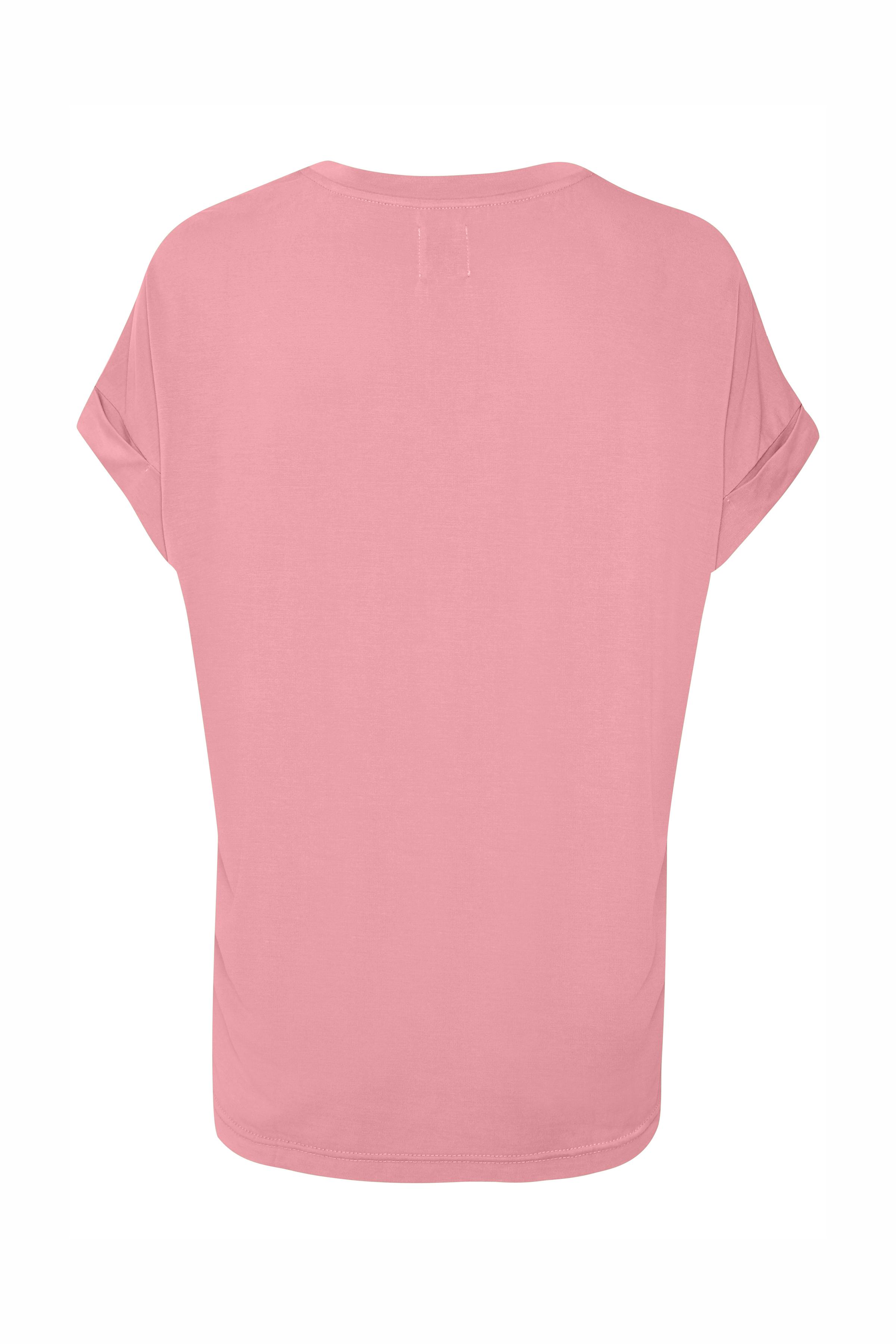 Rosa Kortærmet T-shirt fra Culture – Køb Rosa Kortærmet T-shirt fra str. XS-XXL her