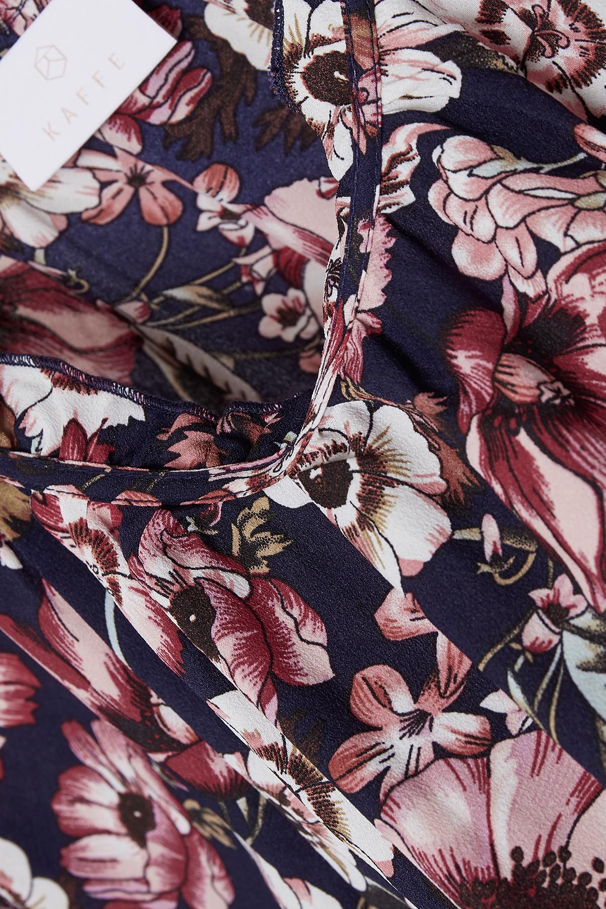 Rosa/marineblau Langarm-Bluse von Kaffe – Shoppen Sie Rosa/marineblau Langarm-Bluse ab Gr. 34-46 hier
