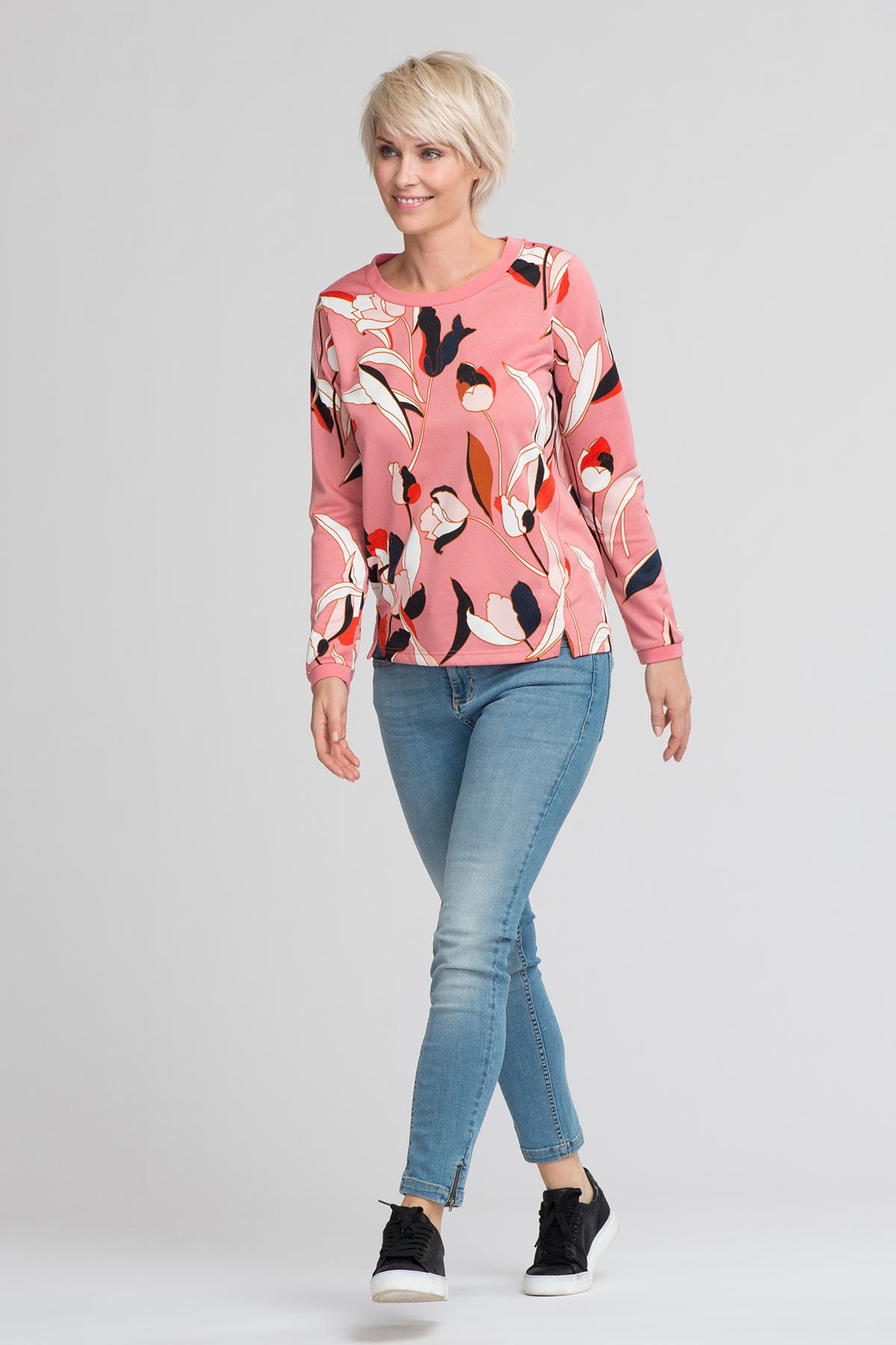 Rosa/marineblau