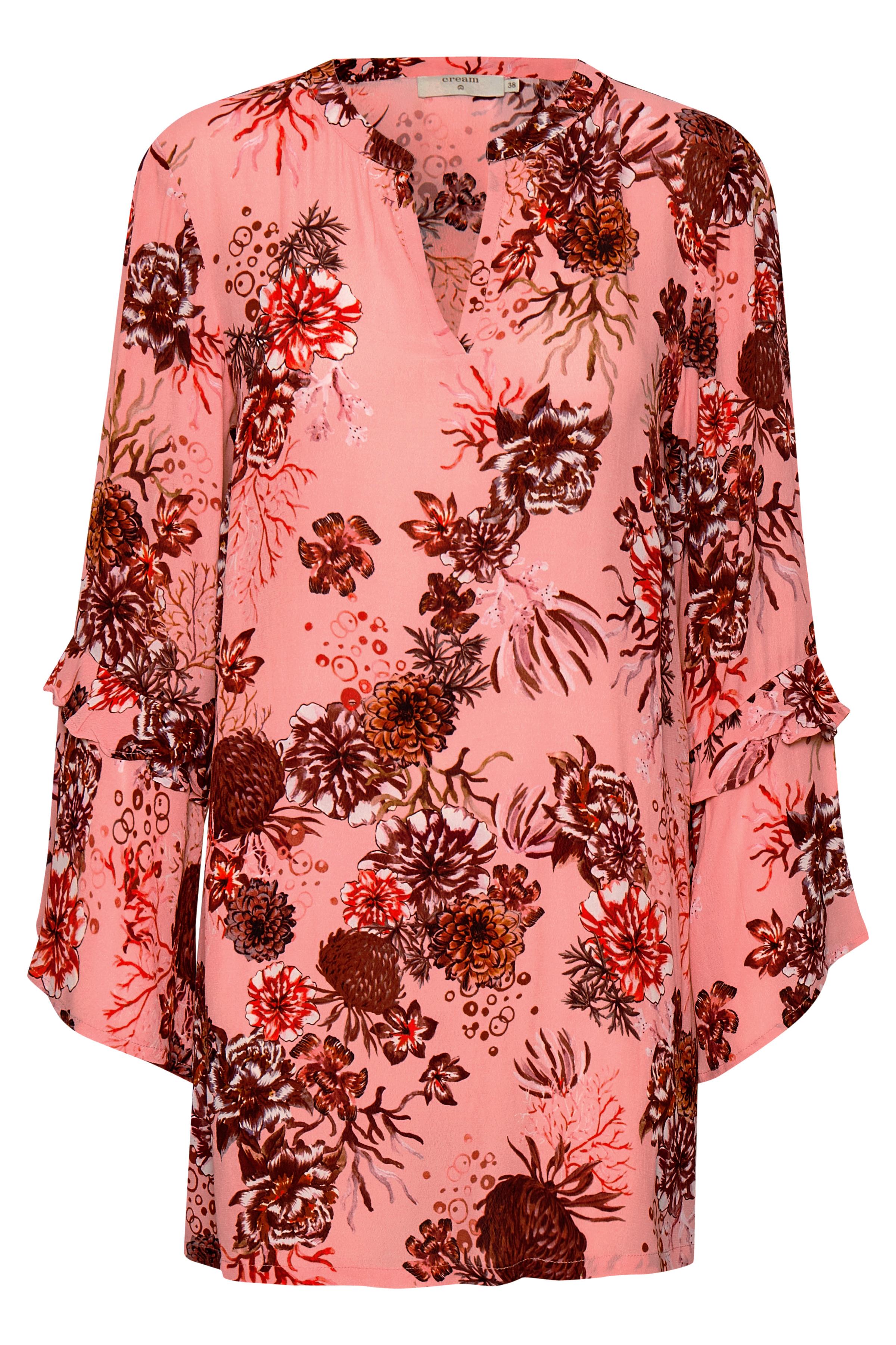 Rosa/mørk rosa Kjole fra Cream – Køb Rosa/mørk rosa Kjole fra str. 34-46 her