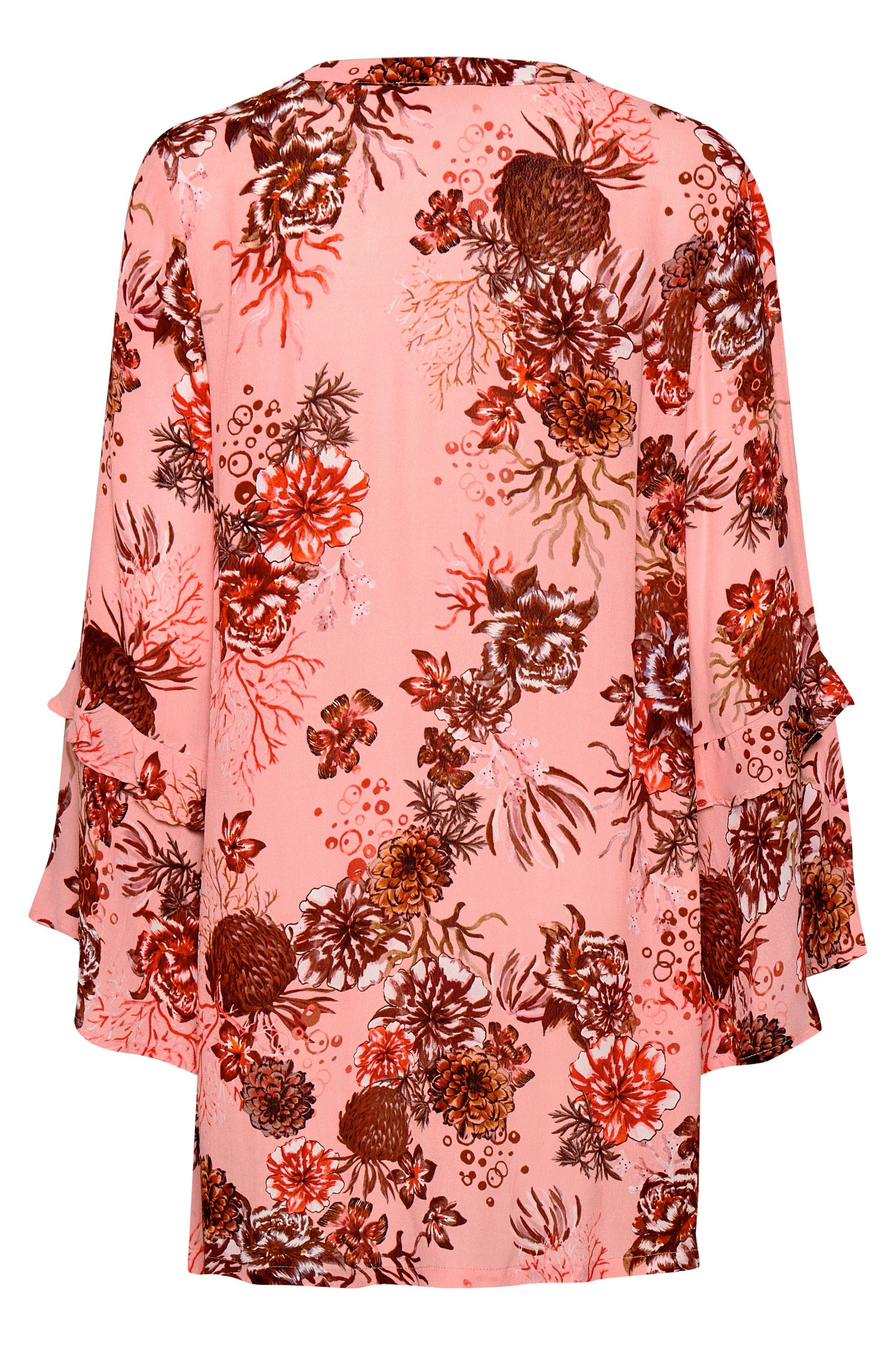 Rosa/mörk rosa Klänning från Cream – Köp Rosa/mörk rosa Klänning från stl. 34-46 här