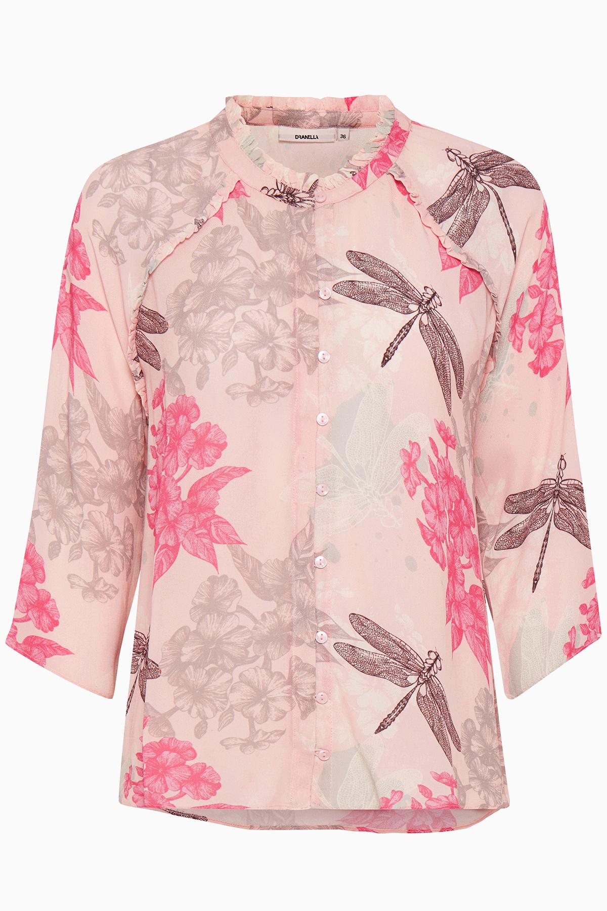 Image of Dranella Dame Smuk Notabene skjorte - Rosa/pink