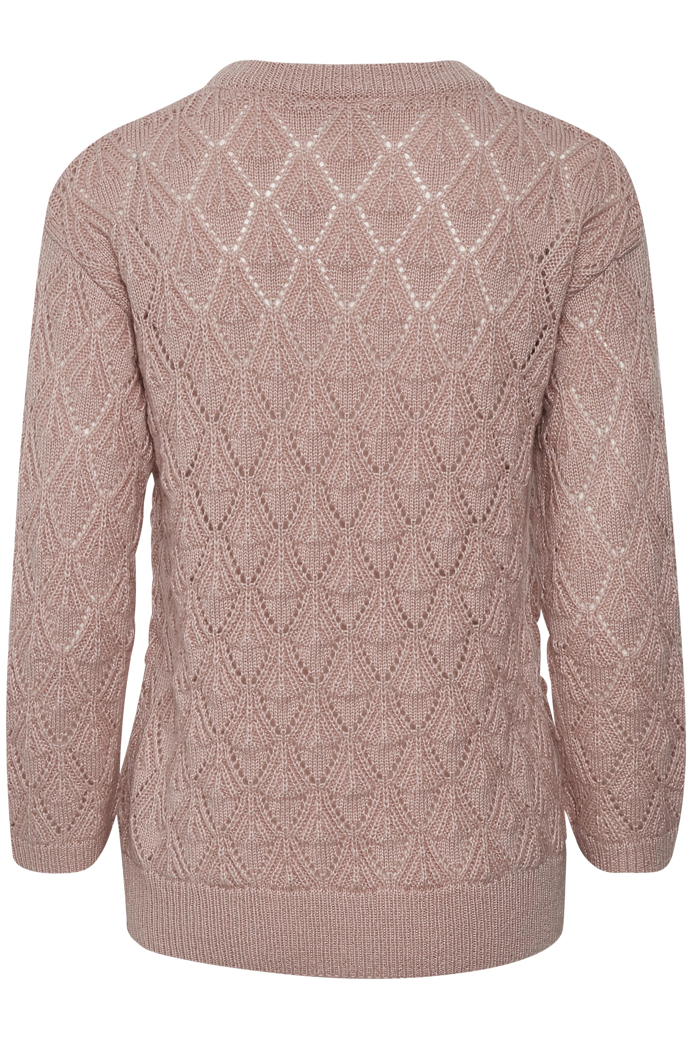 Rosa Stickad tröja från Kaffe – Köp Rosa Stickad tröja från stl. XS-XXL här