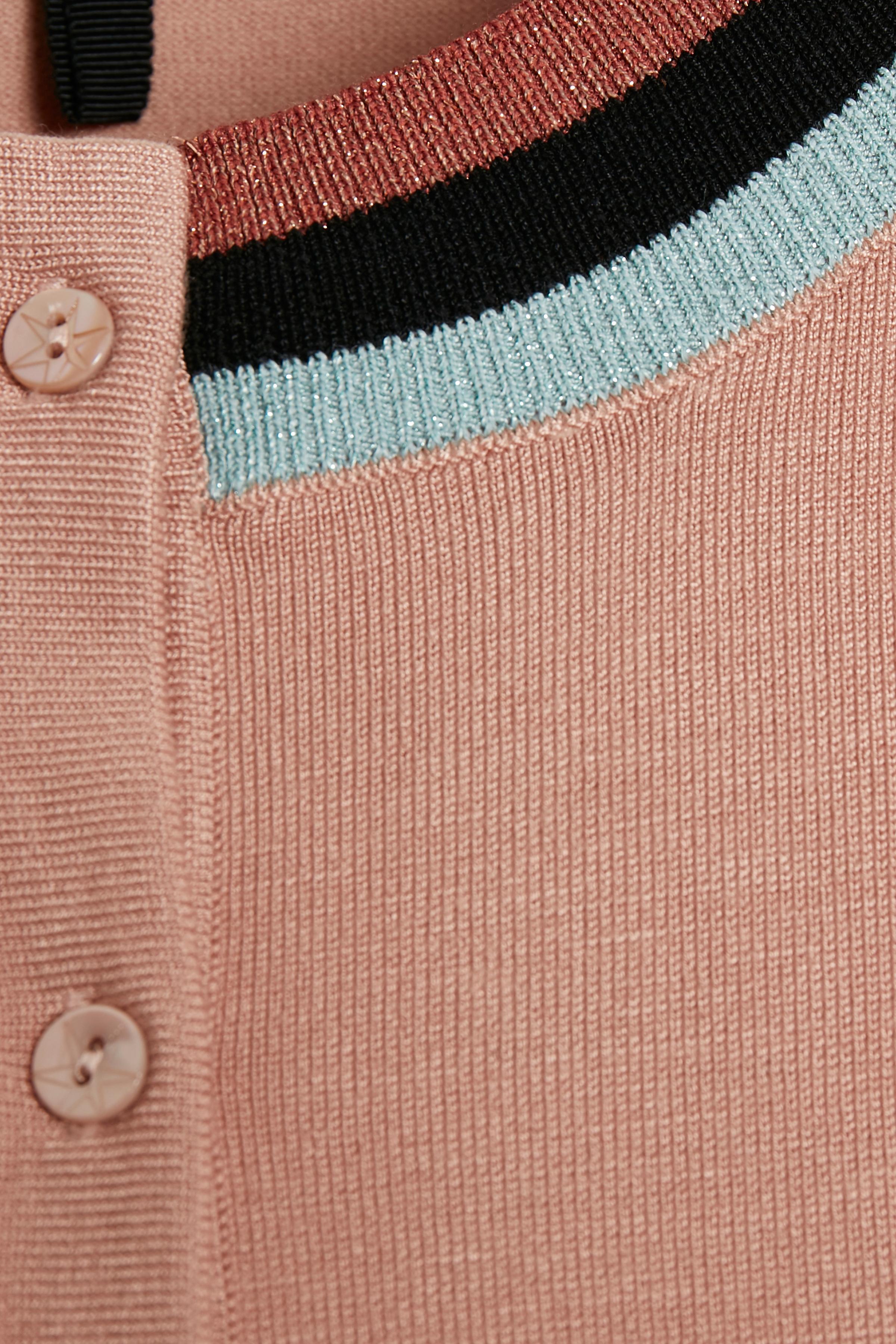 Rosa Strick-Cardigan von Culture – Shoppen Sie Rosa Strick-Cardigan ab Gr. XS-XXL hier