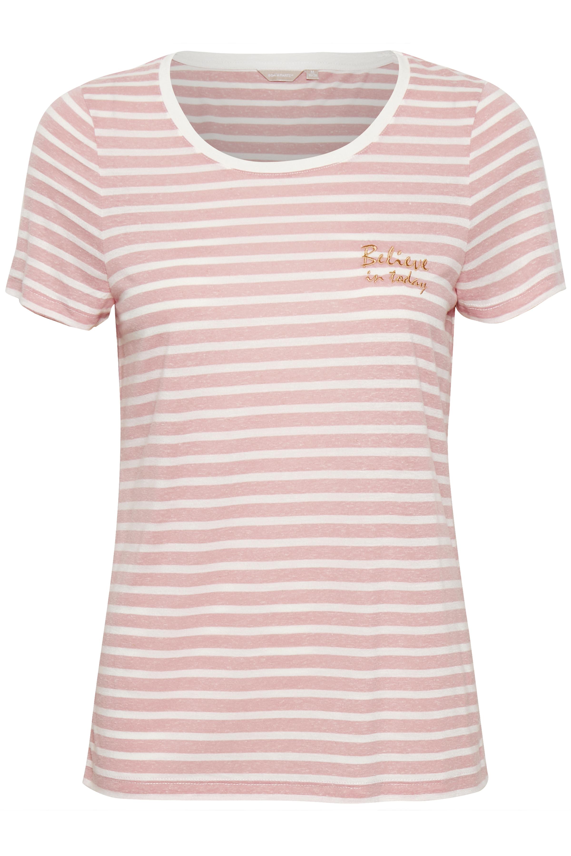 Image of BonA Parte Dame T-shirt - Rosameleret/off-white