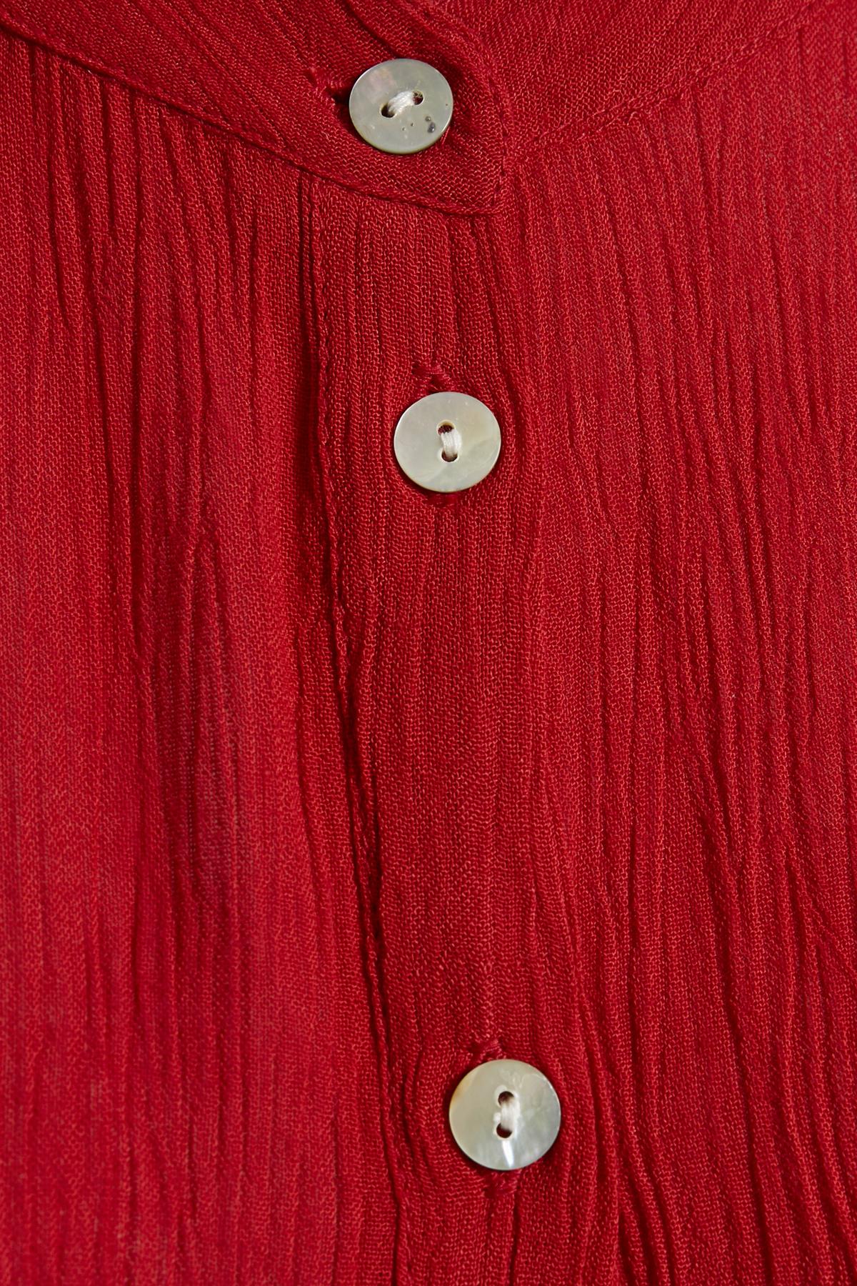 Rot Langarm-Bluse von Kaffe – Shoppen Sie Rot Langarm-Bluse ab Gr. 34-46 hier