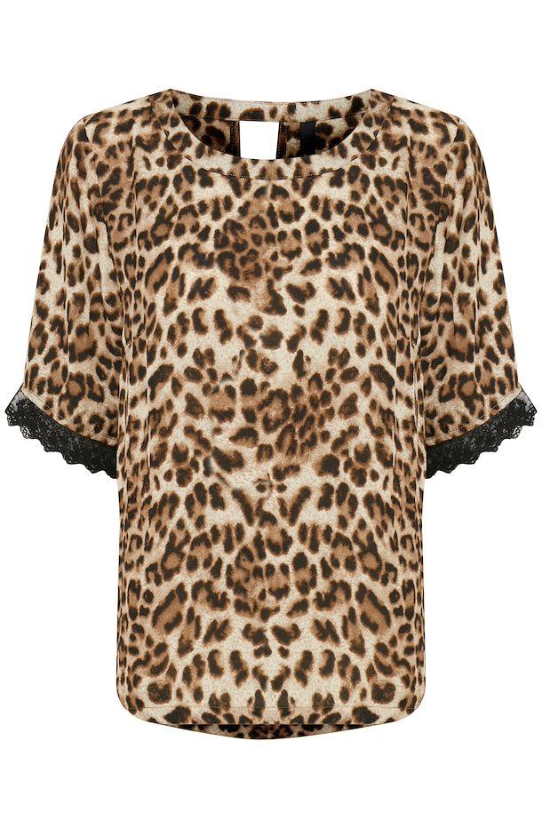 861ea350b060 Sand brun Kortærmet bluse fra Pulz Jeans – Køb Sand brun Kortærmet bluse  fra str. XS-XXL her
