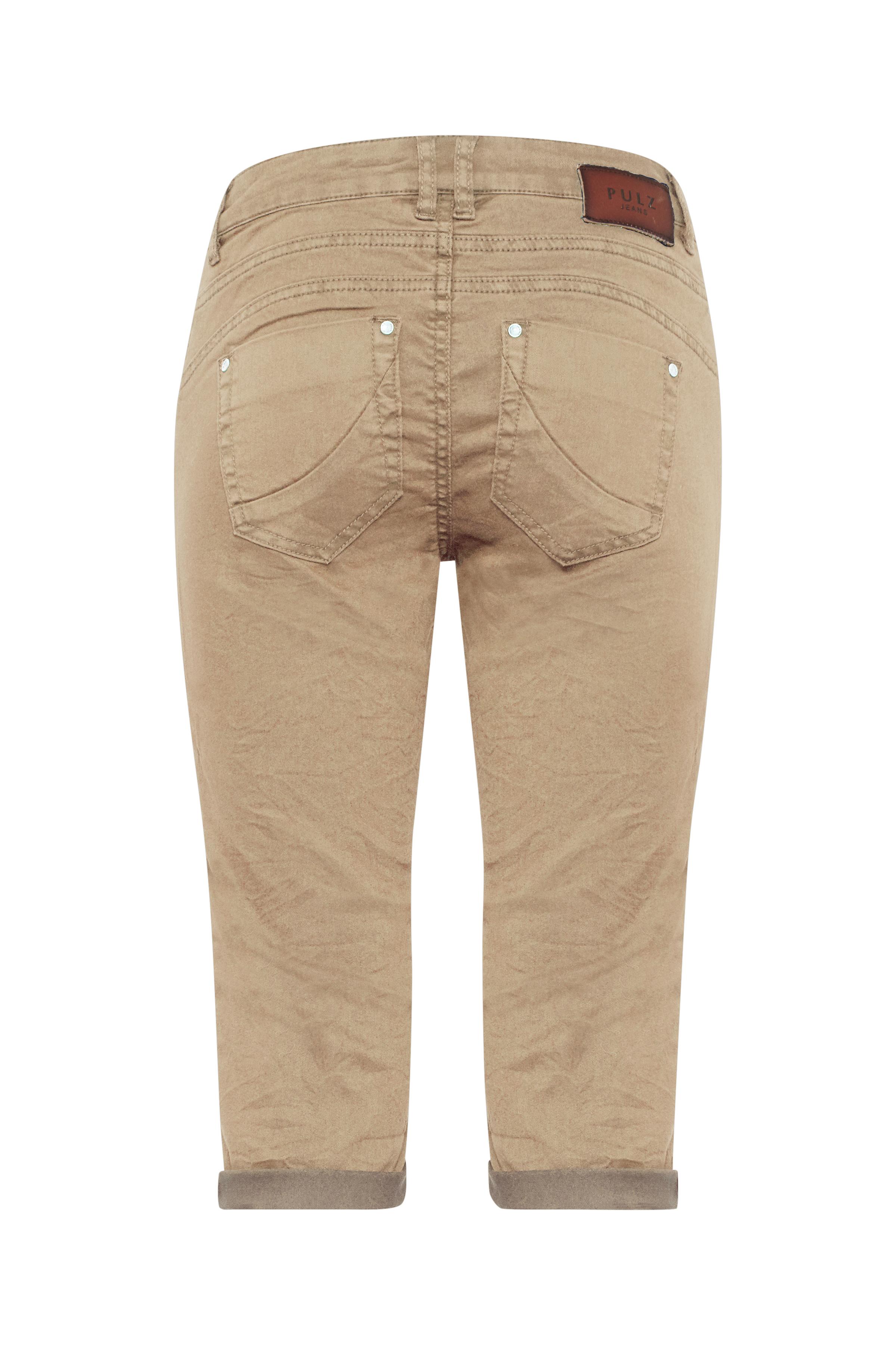 Sand Casual bukser fra Pulz Jeans – Køb Sand Casual bukser fra str. 32-46 her