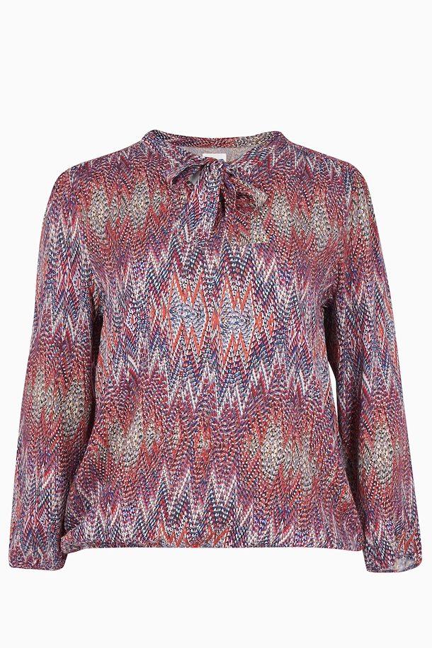 64193da7 Sand Langærmet bluse fra Zizzi – Køb Sand Langærmet bluse fra str. 42-44-54-56  her