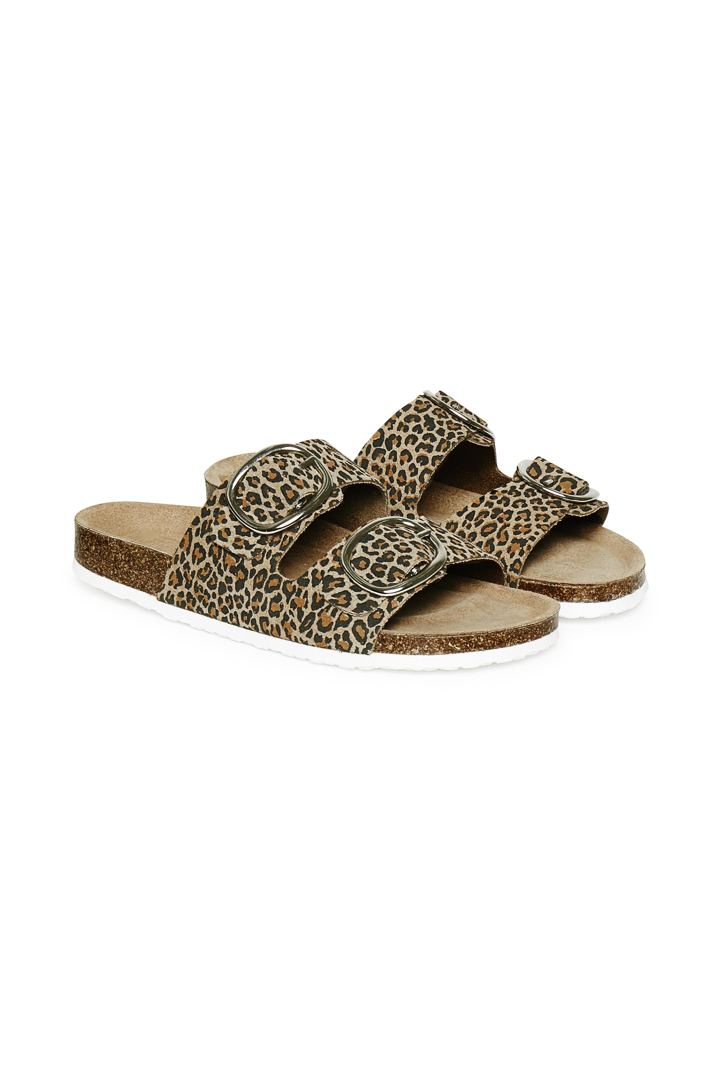 Cream Dame Slip-in sandal  - Sand/sort