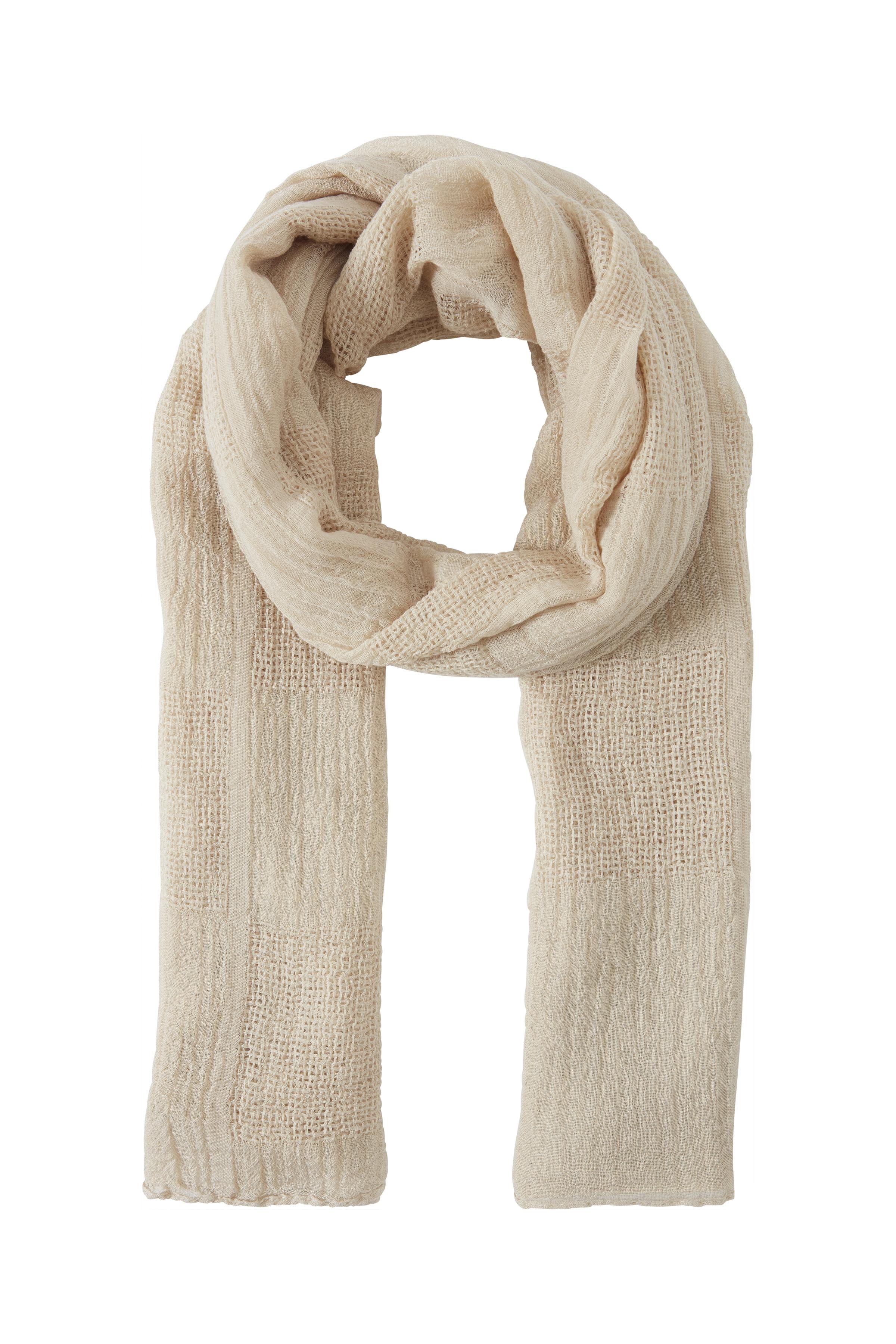Image of   Ichi - accessories Dame Tørklæde - Sand