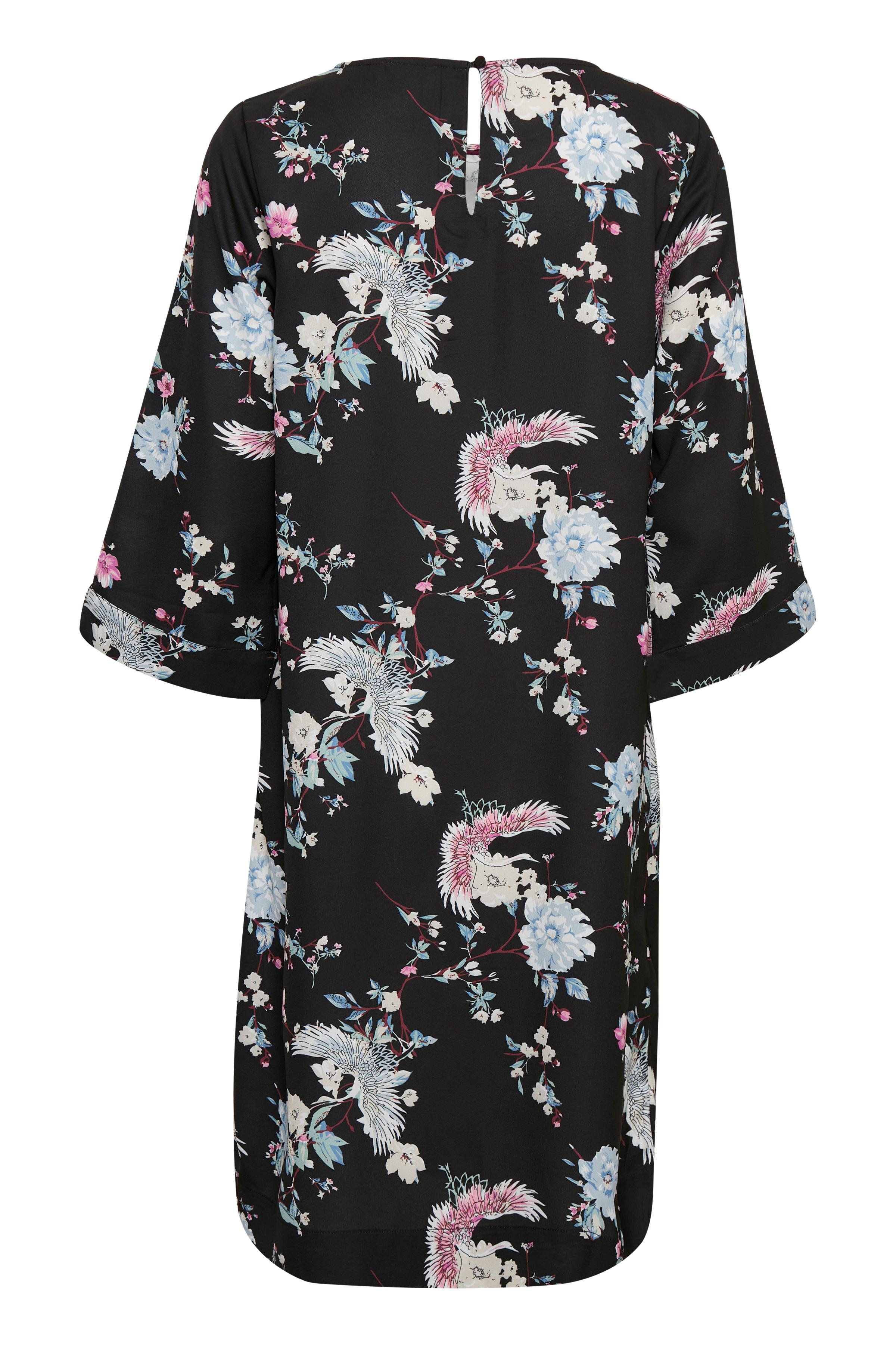 Schwarz/blau Kleid von Bon'A Parte – Shoppen Sie Schwarz/blau Kleid ab Gr. S-2XL hier