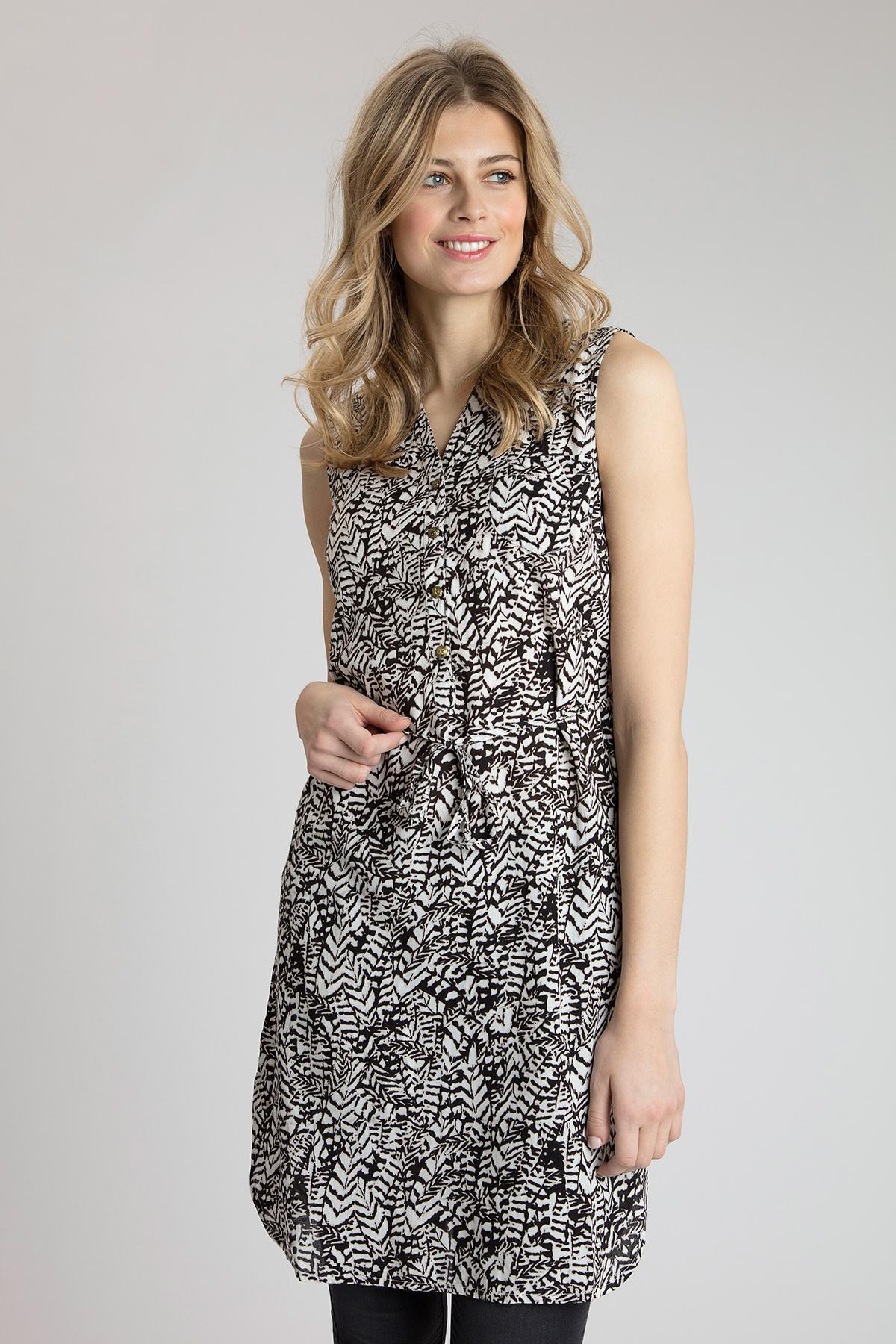 Schwarz/creme Kleid von Bon'A Parte – Shoppen Sie Schwarz/creme Kleid ab Gr. S-2XL hier