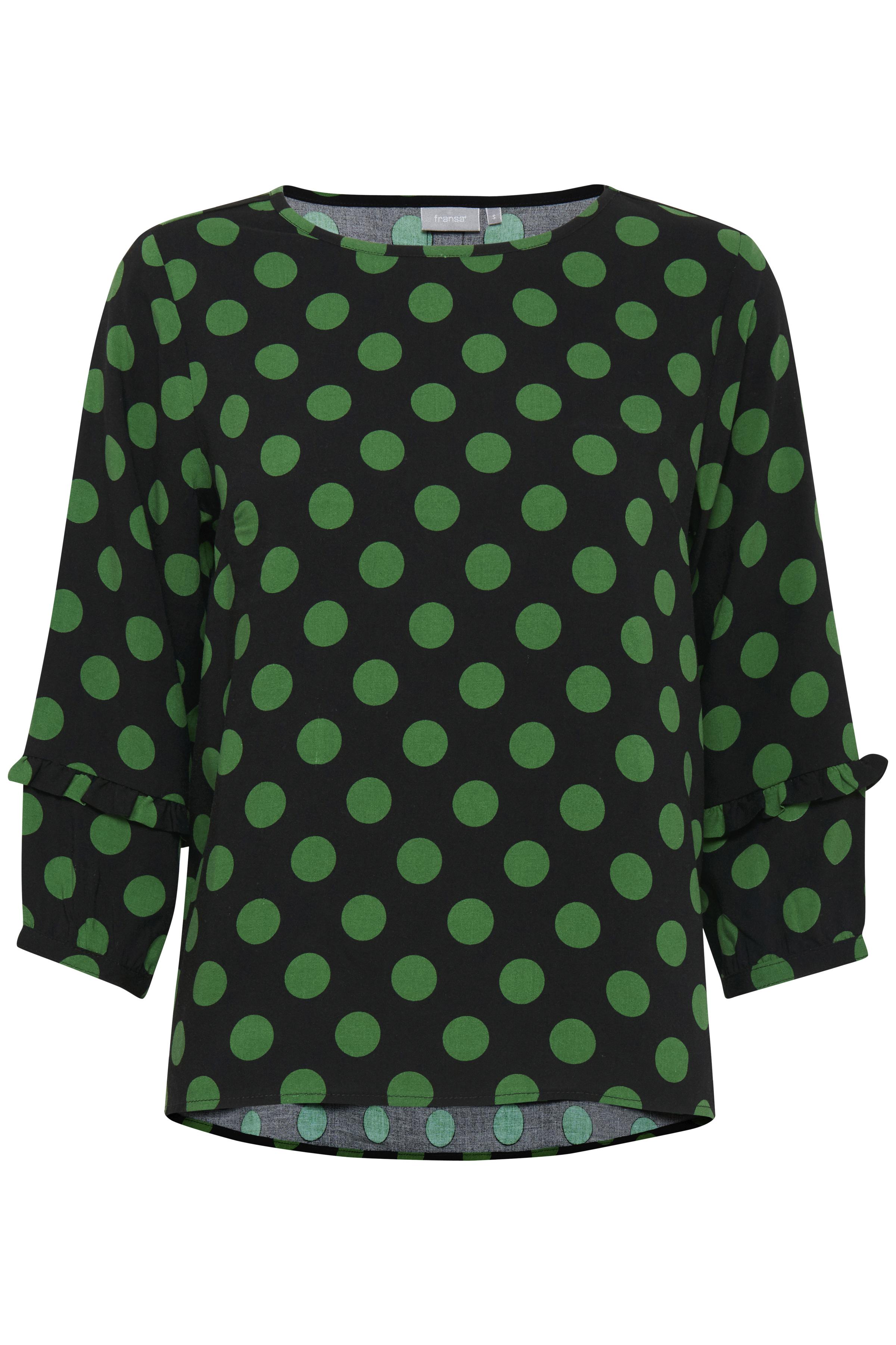 Schwarz/dunkelgrün