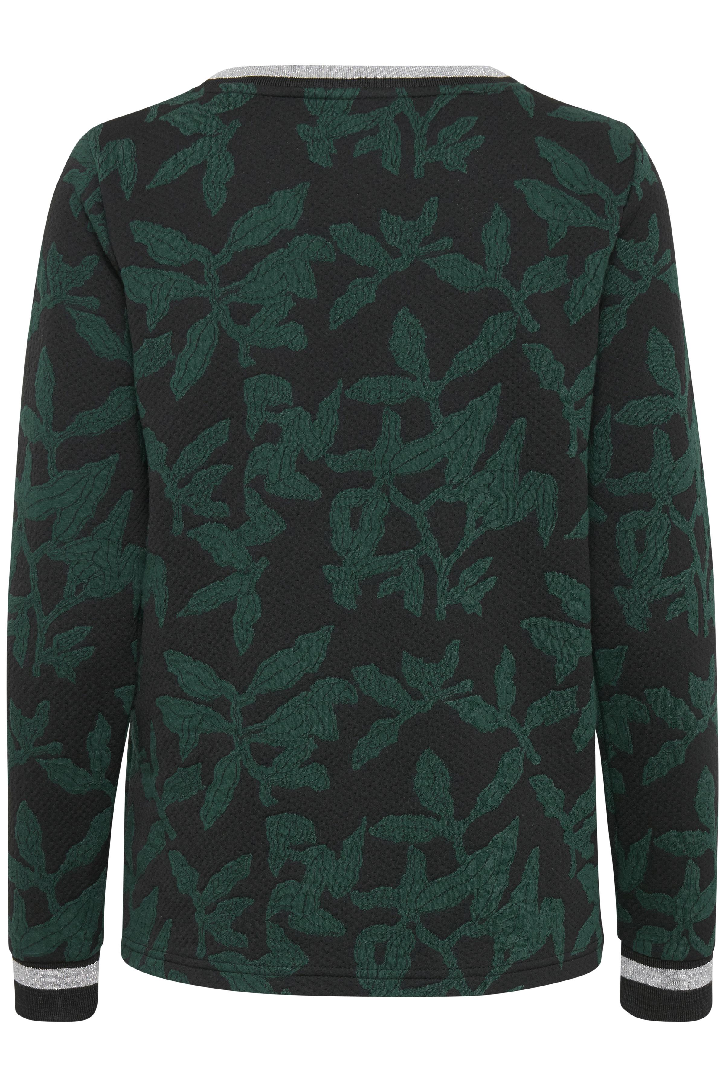 Schwarz/flaschengrün Sweatshirt von Dranella – Shoppen Sie Schwarz/flaschengrün Sweatshirt ab Gr. XS-XXL hier