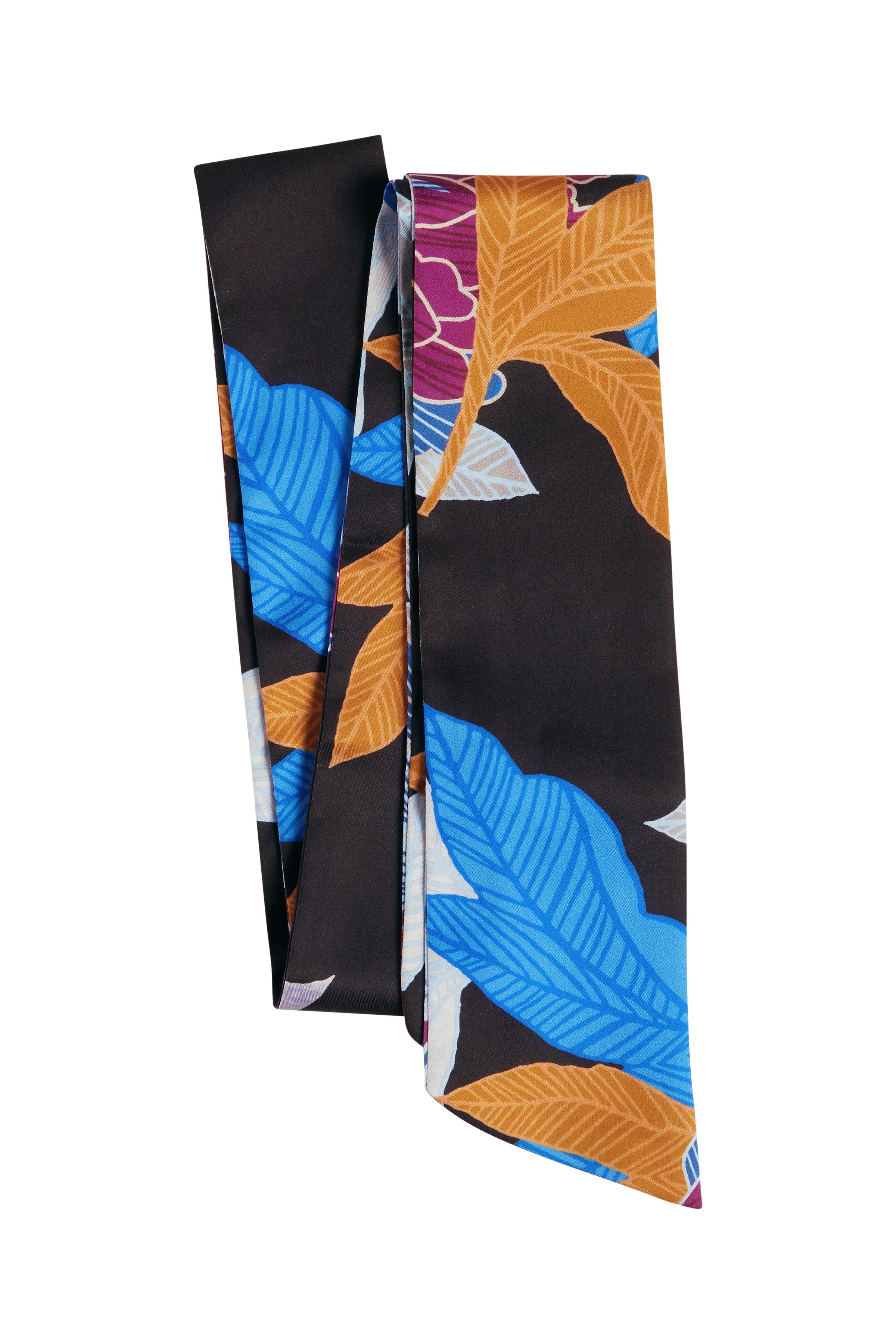 Schwarz/fuchsia Tuch von Dranella – Shoppen Sie Schwarz/fuchsia Tuch ab Gr. ONE hier