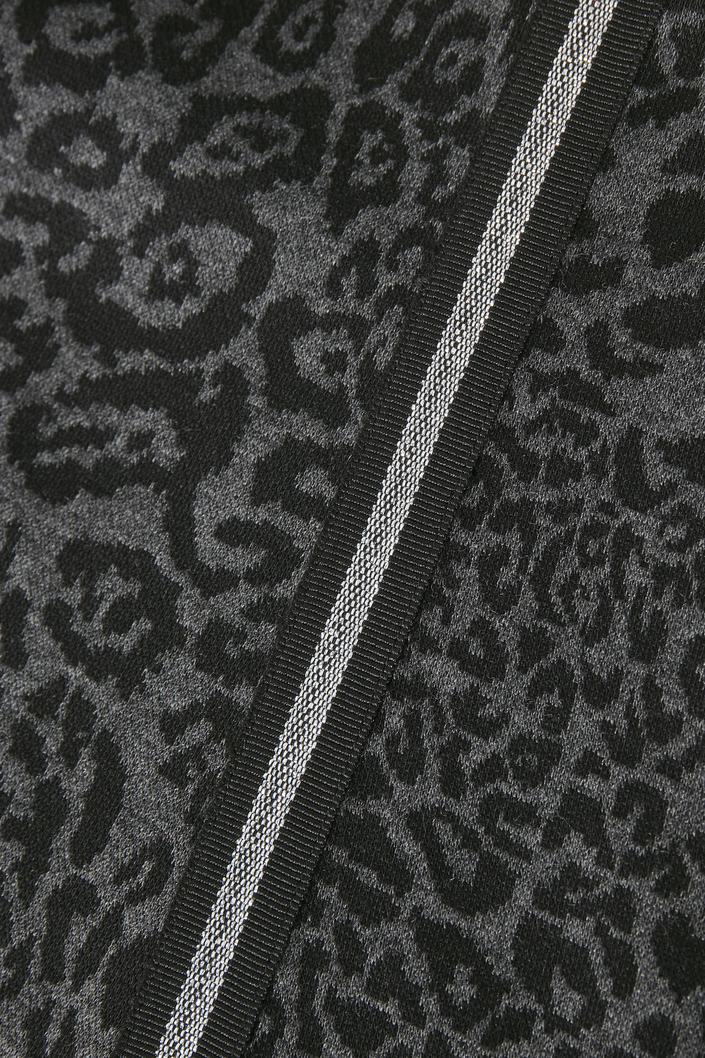 Schwarz/grau Strickkleid von Bon'A Parte – Shoppen Sie Schwarz/grau Strickkleid ab Gr. S-2XL hier