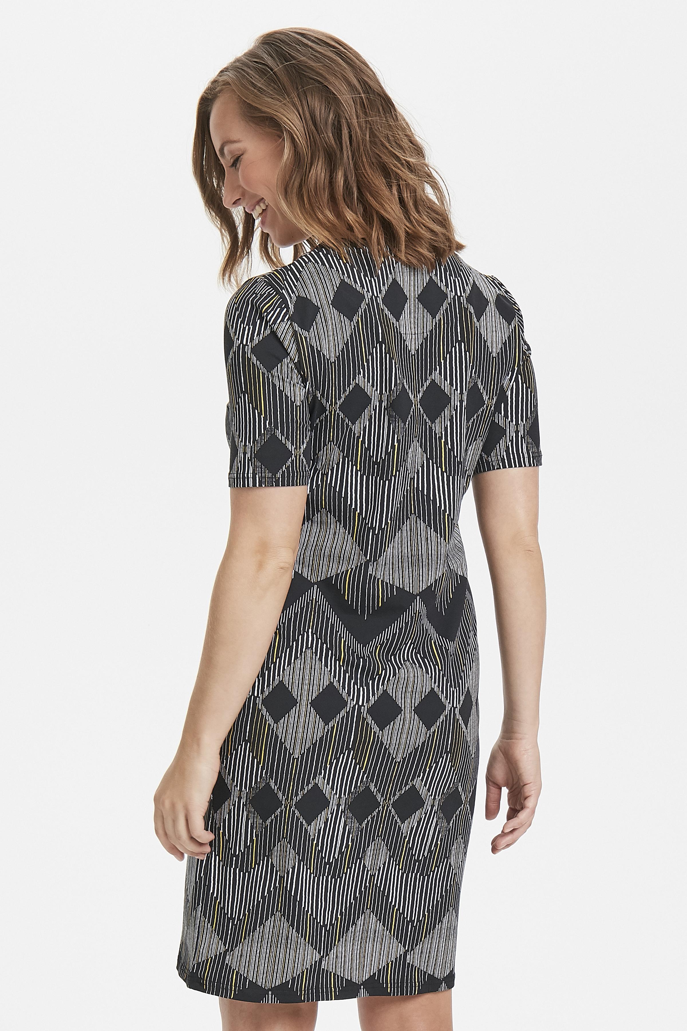Schwarz/hellgelb Kleid von Bon'A Parte – Shoppen Sie Schwarz/hellgelb Kleid ab Gr. S-2XL hier