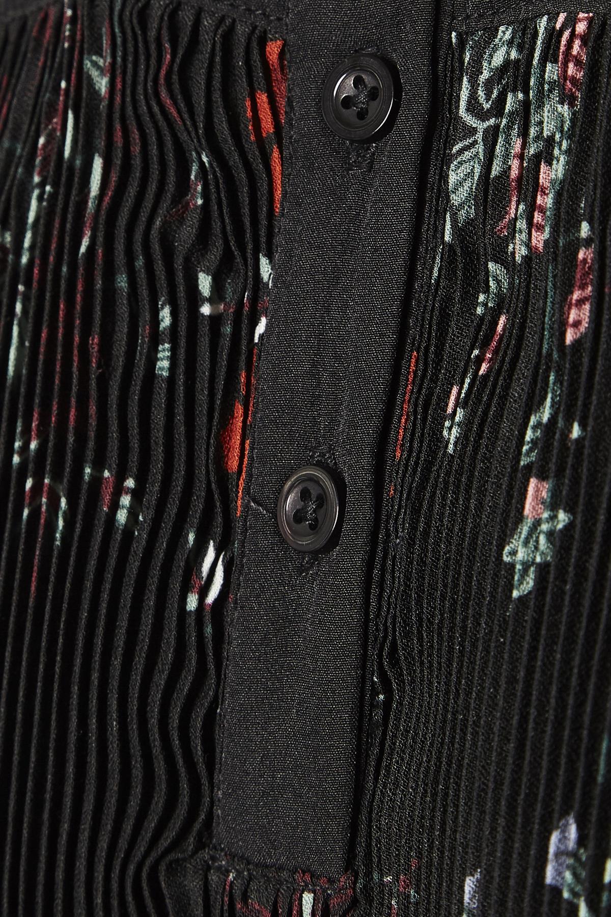 Schwarz/koralle Langarm-Bluse von Kaffe – Shoppen Sie Schwarz/koralle Langarm-Bluse ab Gr. 34-46 hier