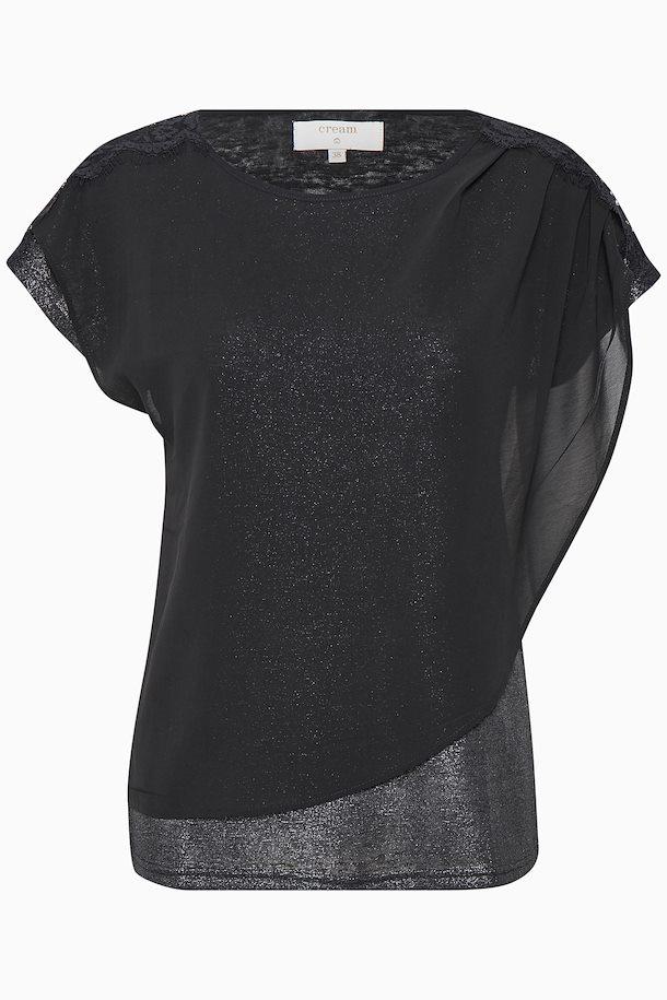 57ba080f4c7d5b Schwarz Kurzarm T-Shirt von Cream – Shoppen Sie Schwarz Kurzarm T-Shirt ab  Gr. XS-XXL hier
