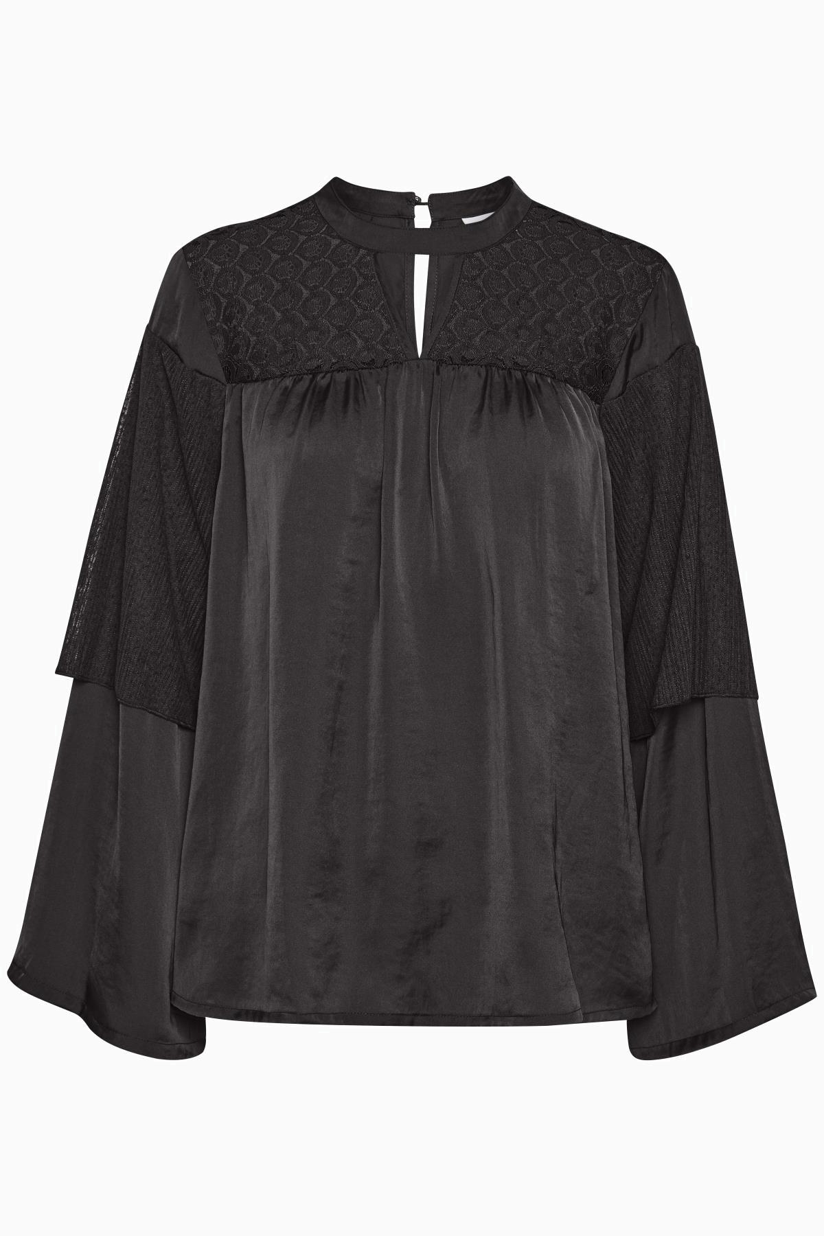 Schwarz Langarm-Bluse von Kaffe – Shoppen SieSchwarz Langarm-Bluse ab Gr. 34-46 hier