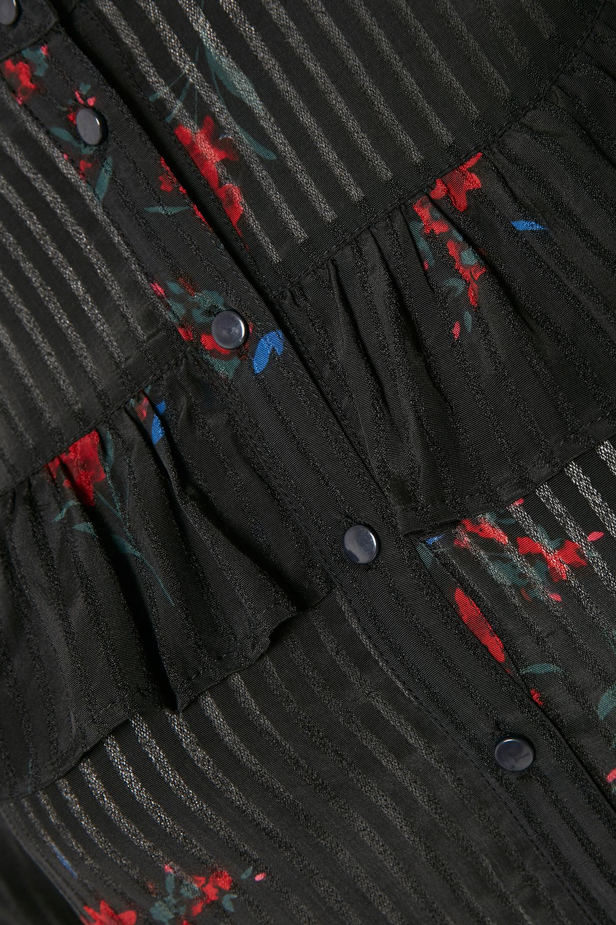 Schwarz/rot Langarm - Hemd von Kaffe – Shoppen SieSchwarz/rot Langarm - Hemd ab Gr. 34-46 hier