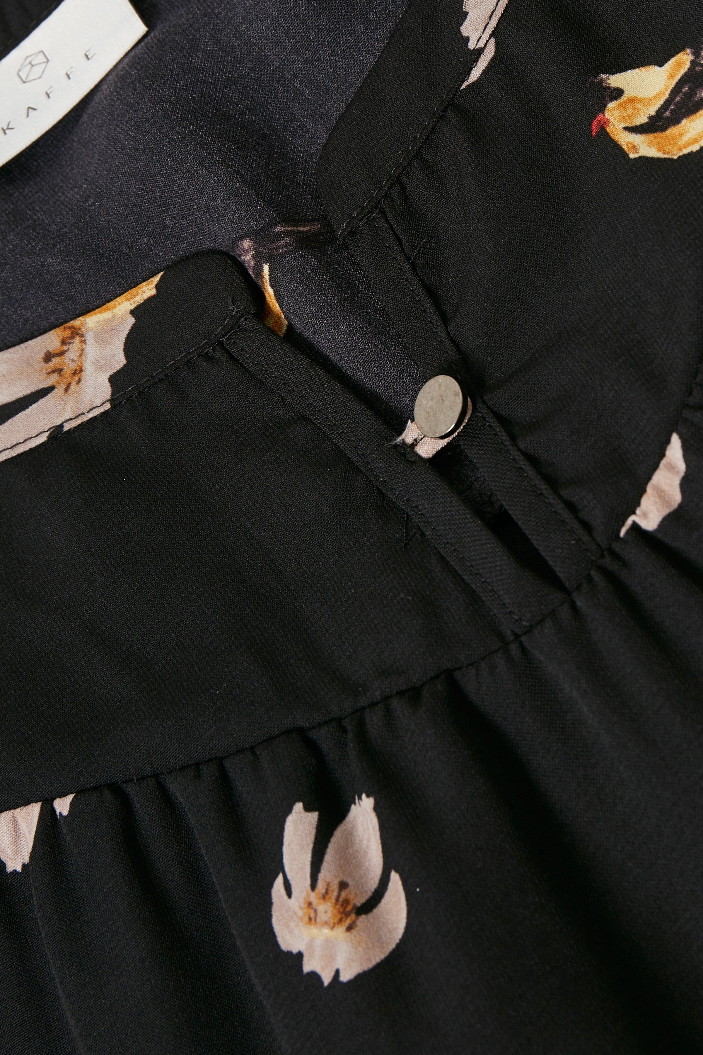 Schwarz/sand Langarm-Bluse von Kaffe – Shoppen Sie Schwarz/sand Langarm-Bluse ab Gr. 34-46 hier