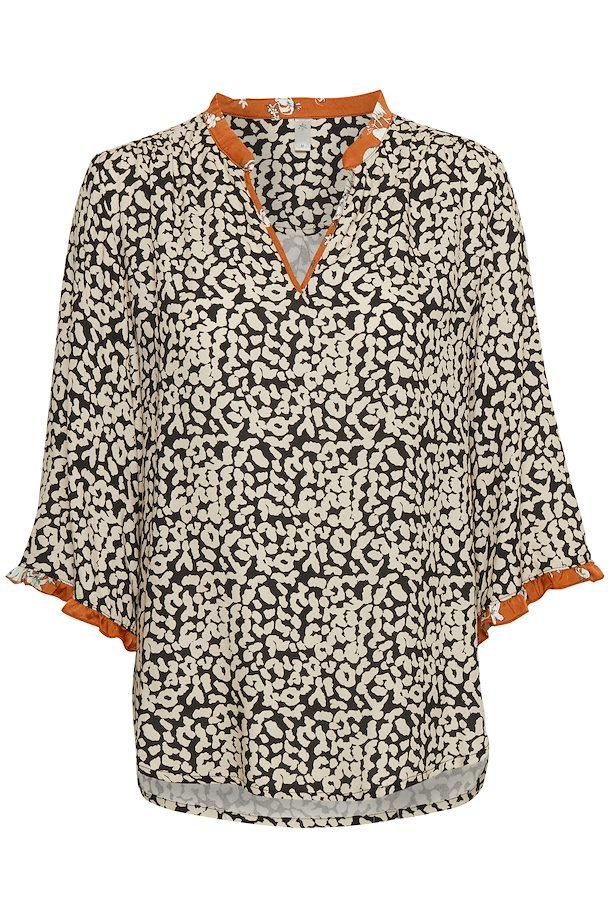 953f4d69 Schwarz/sand Langarm-Bluse von Culture – Shoppen Sie Schwarz/sand Langarm- Bluse ab Gr. XS-XXL hier