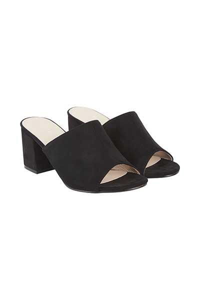 Schwarz Sandale von Ichi - accessories – Shoppen Sie Schwarz Sandale ab Gr. 36-41 hier