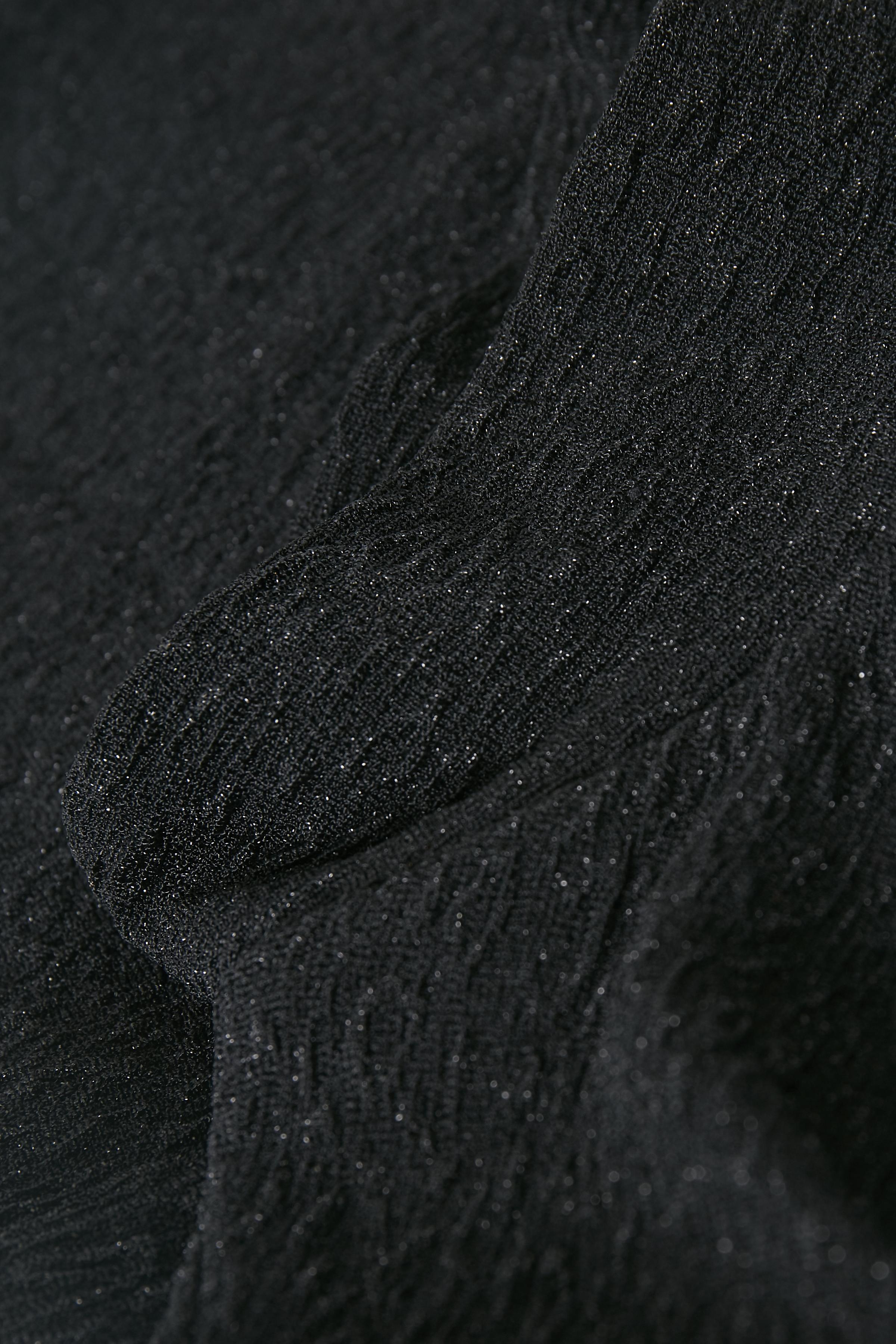 Schwarz/silber Kurzarm-Bluse von Kaffe – Shoppen Sie Schwarz/silber Kurzarm-Bluse ab Gr. XS-XXL hier