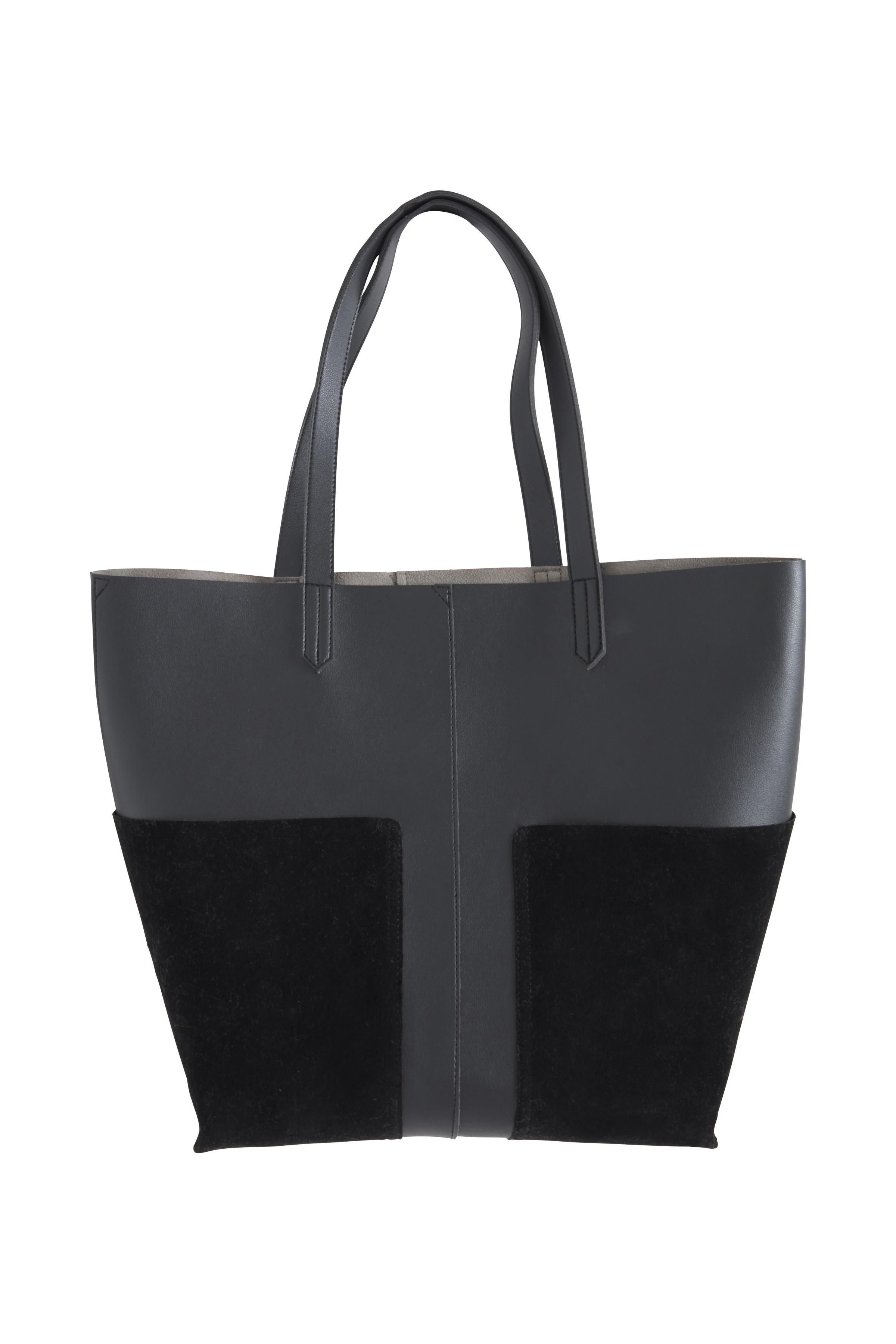 Schwarz Tasche von Ichi - accessories – Shoppen Sie Schwarz Tasche ab Gr. ONE hier