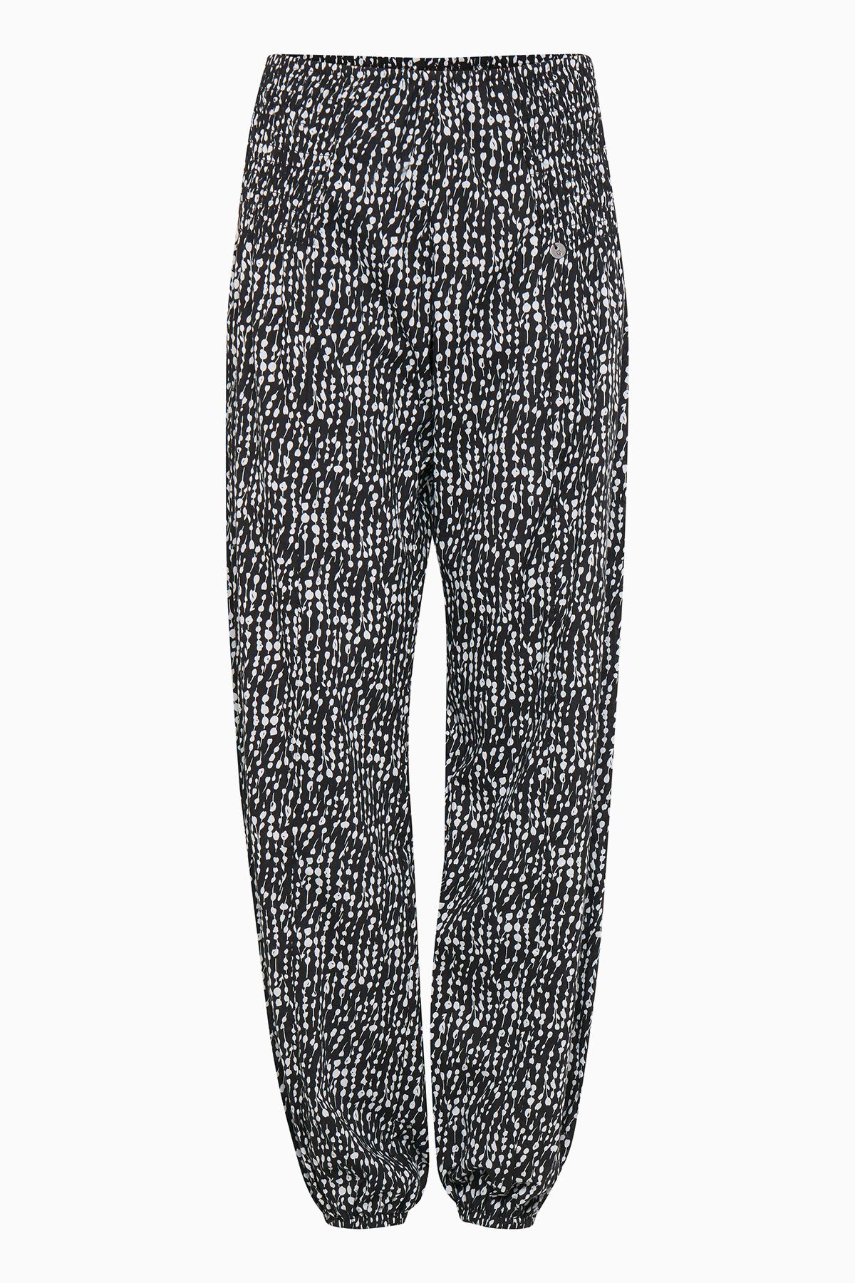 Schwarz/weiß Hose von Pulz Jeans – Shoppen Sie Schwarz/weiß Hose ab Gr. XS-XXL hier