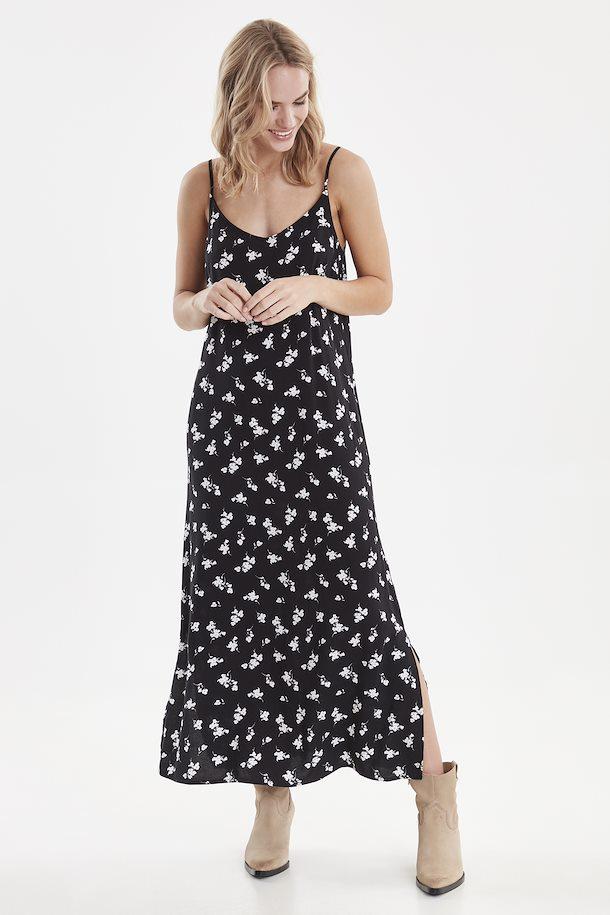 Schwarz/weiß Kleid von b.young - Shoppen Sie Schwarz/weiß ...