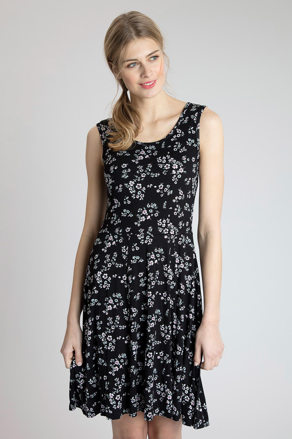 Schwarz/wollweiß Kleid von Fransa – Shoppen Sie Schwarz/wollweiß Kleid ab Gr. XS-XXL hier