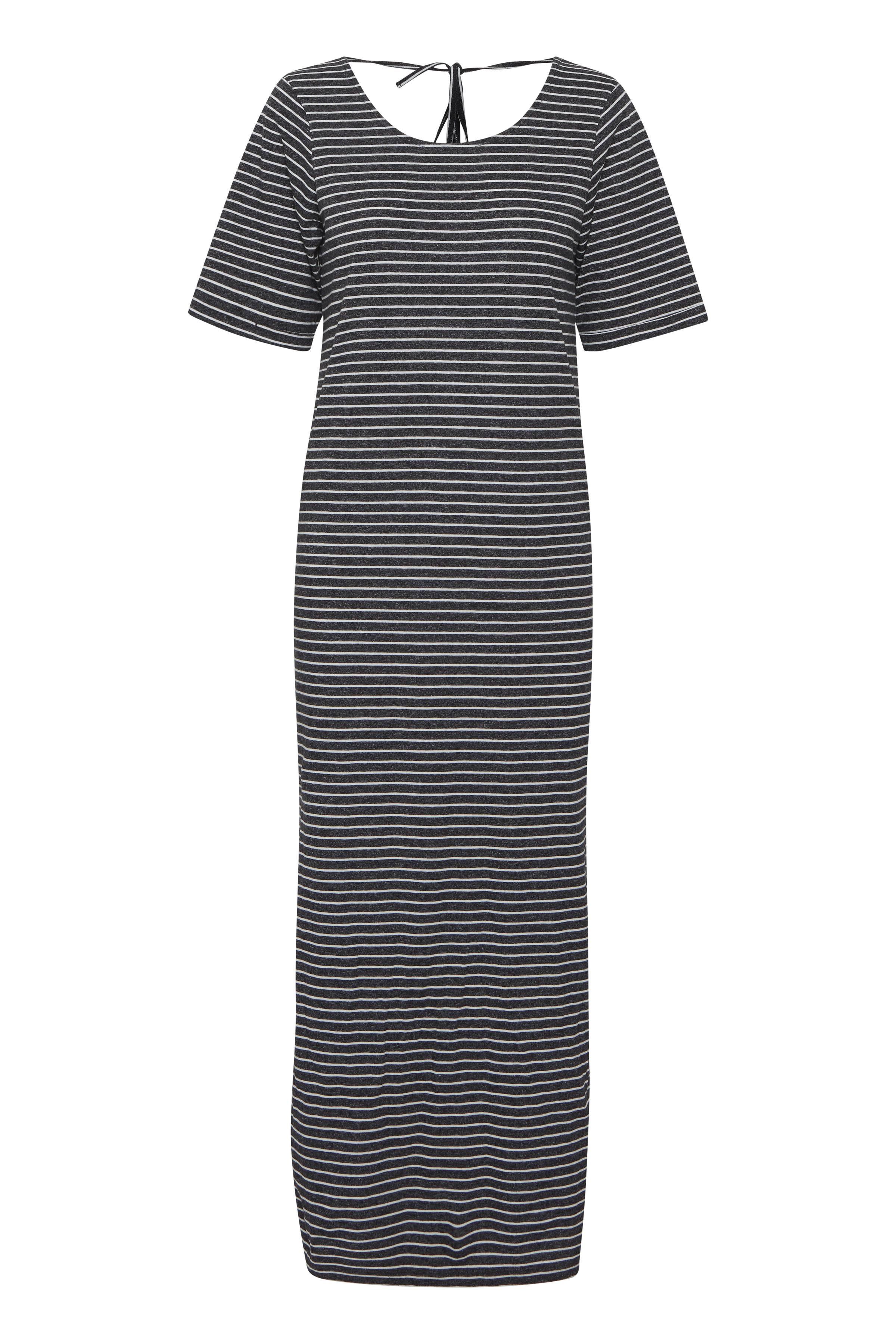 Ichi Dame Jerseykjole - Small Stripe Black