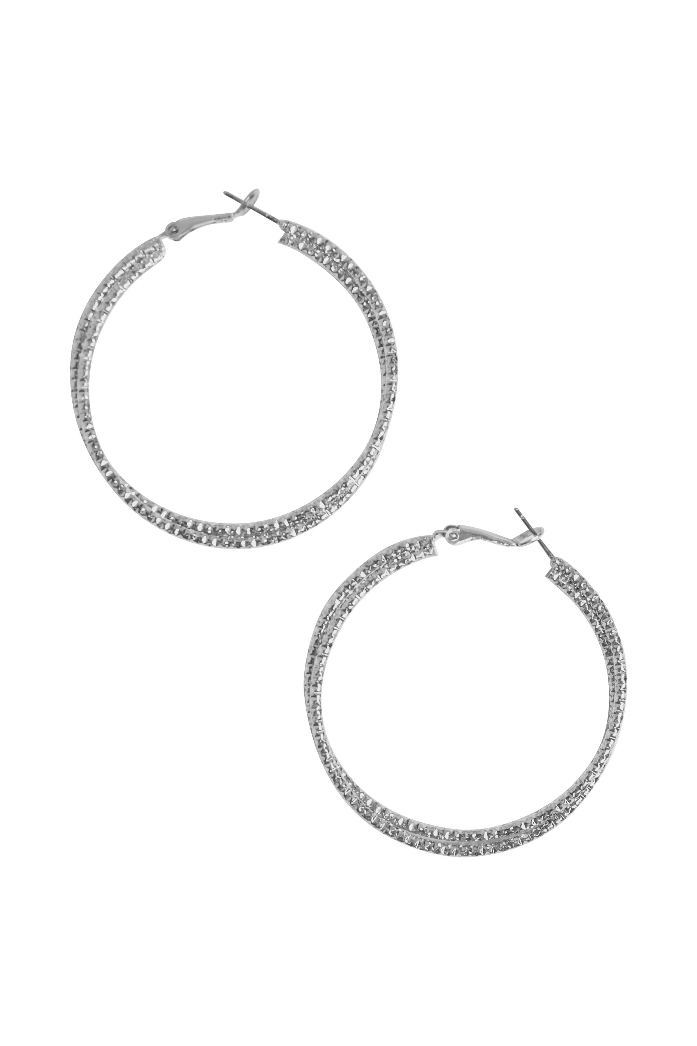 Sølv Øreringe  fra Fransa – Køb Sølv Øreringe  fra str. ONE her