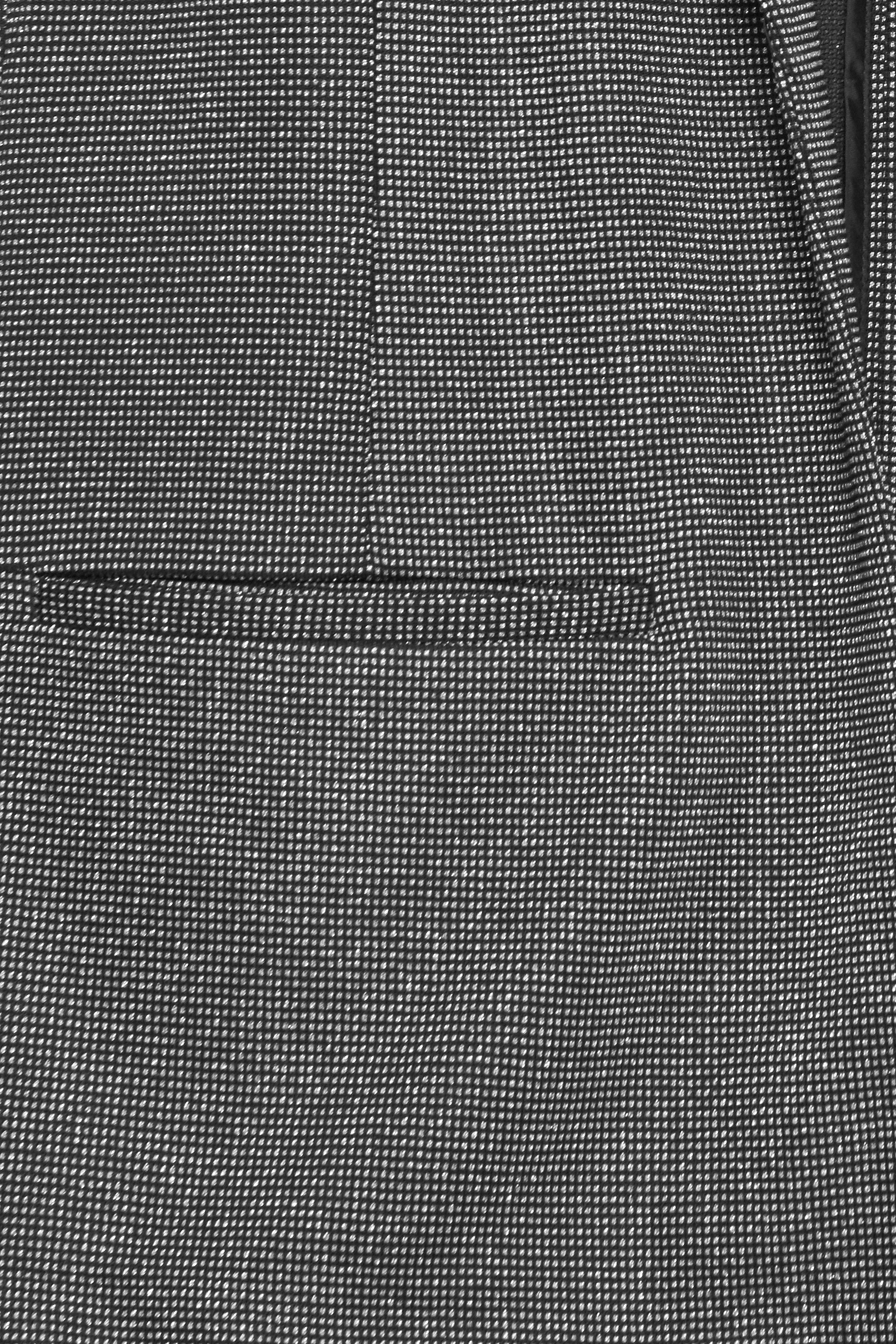 Sølv/sort Blazer fra Fransa – Køb Sølv/sort Blazer fra str. XS-XXL her