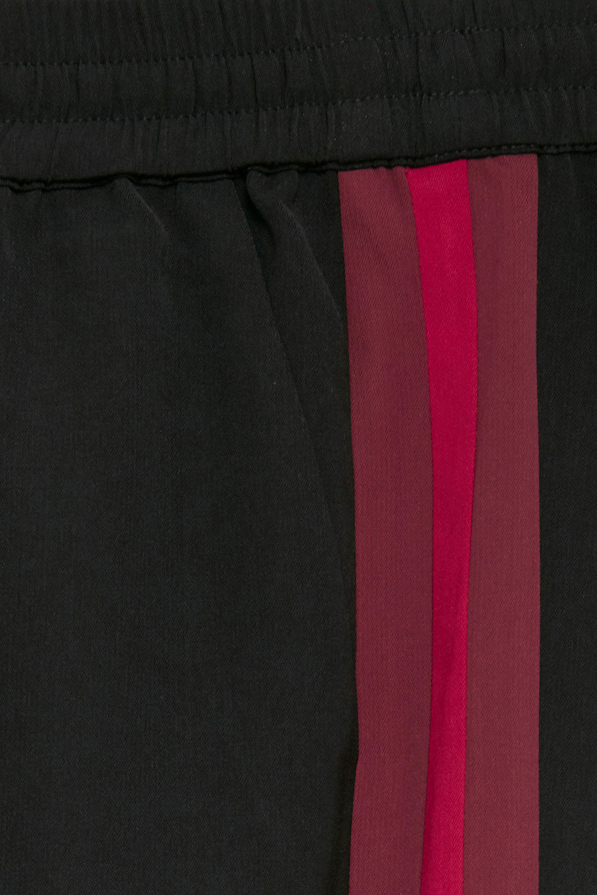 Sort/bordeaux Casual bukser fra b.young – Køb Sort/bordeaux Casual bukser fra str. 34-46 her