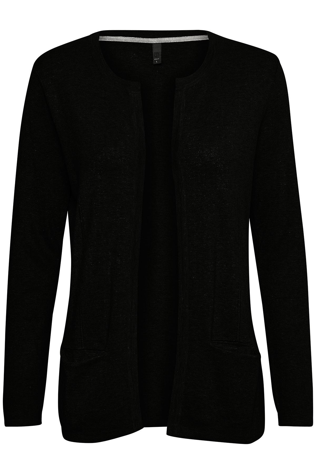 Sort Cardigan fra Pulz Jeans – Køb Sort Cardigan fra str. XS-XXL her