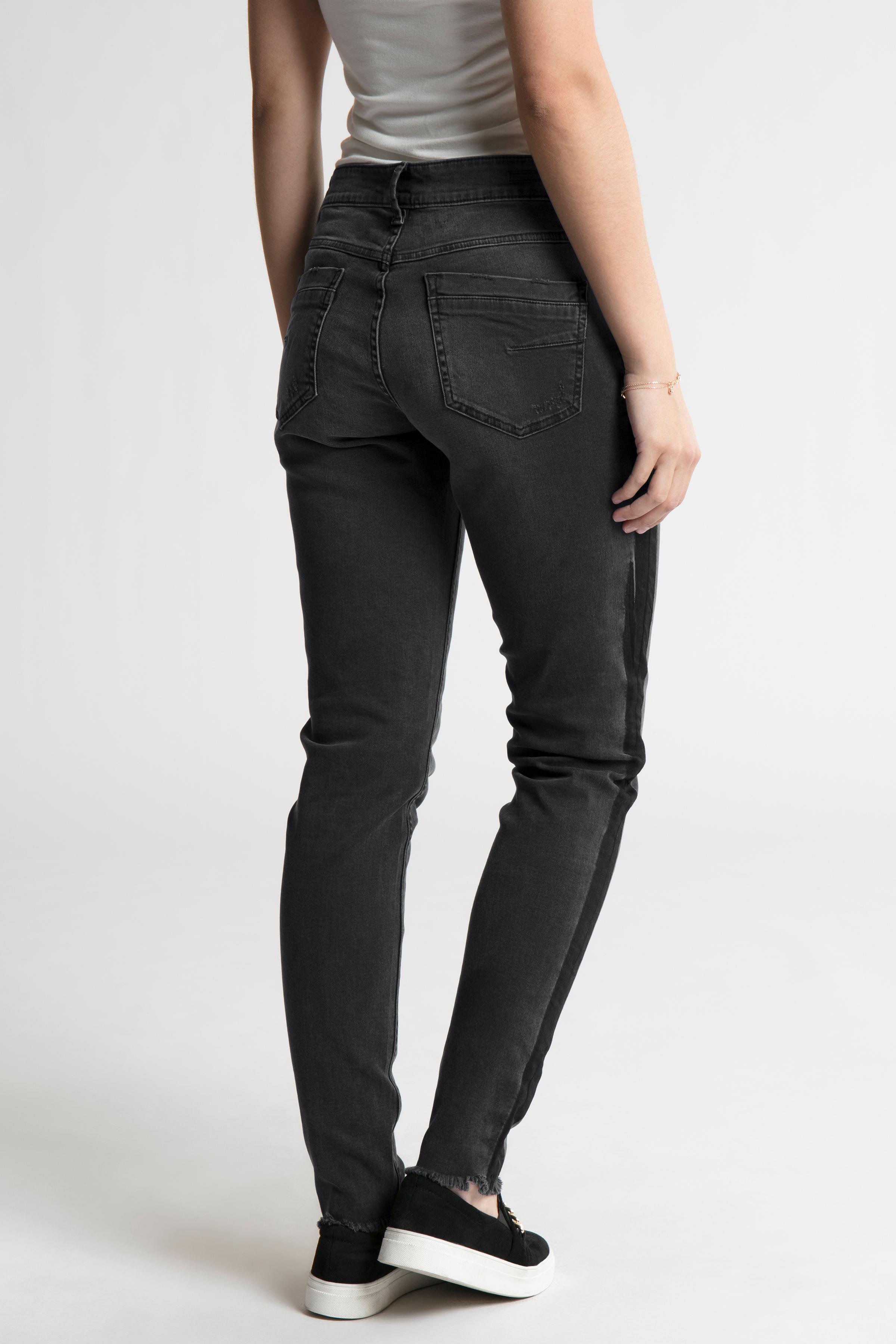 Sort denim Jeans fra b.young – Køb Sort denim Jeans fra str. 25-36 her