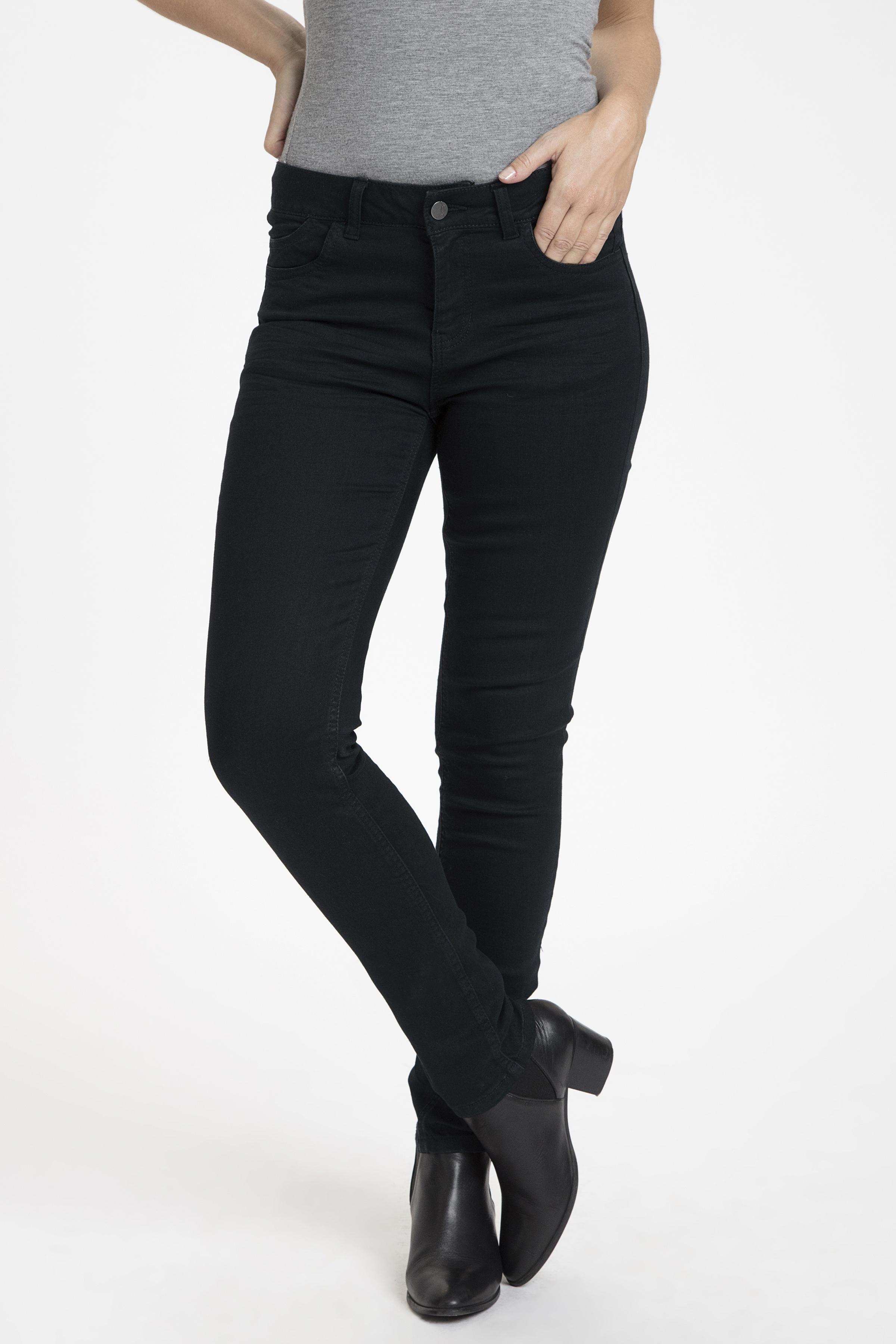 Sort denim Jeans fra Fransa – Køb Sort denim Jeans fra str. 34-46 her