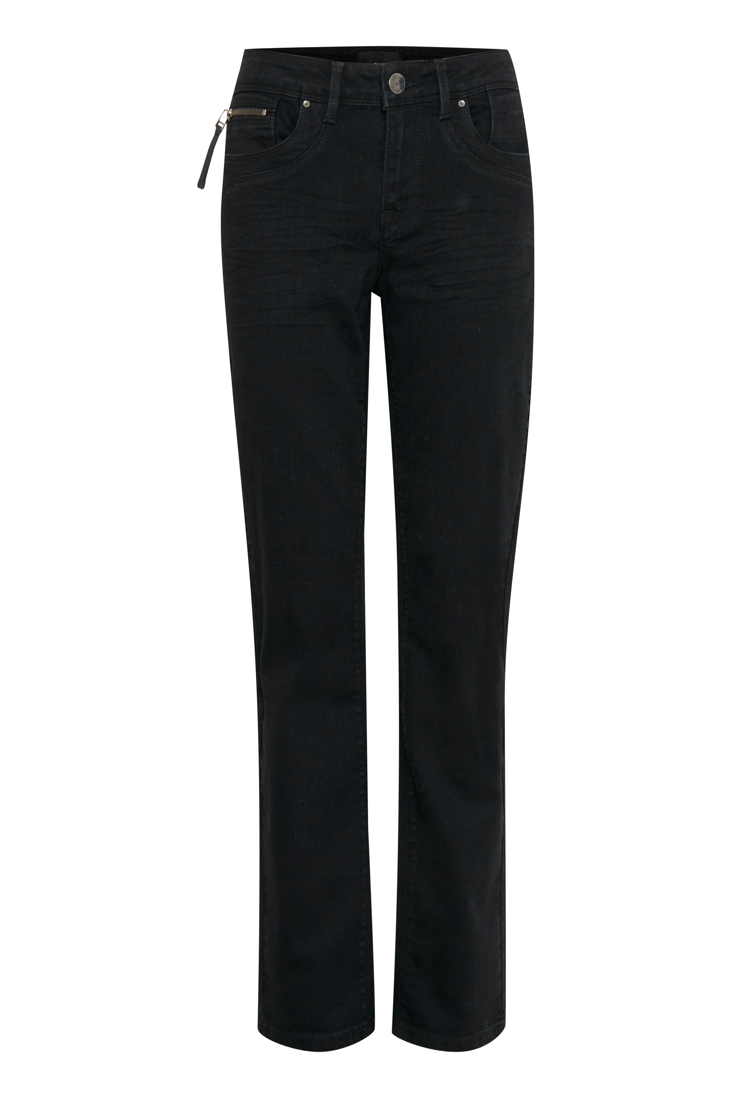 Image of Pulz Jeans Dame Jeans - Sort denim