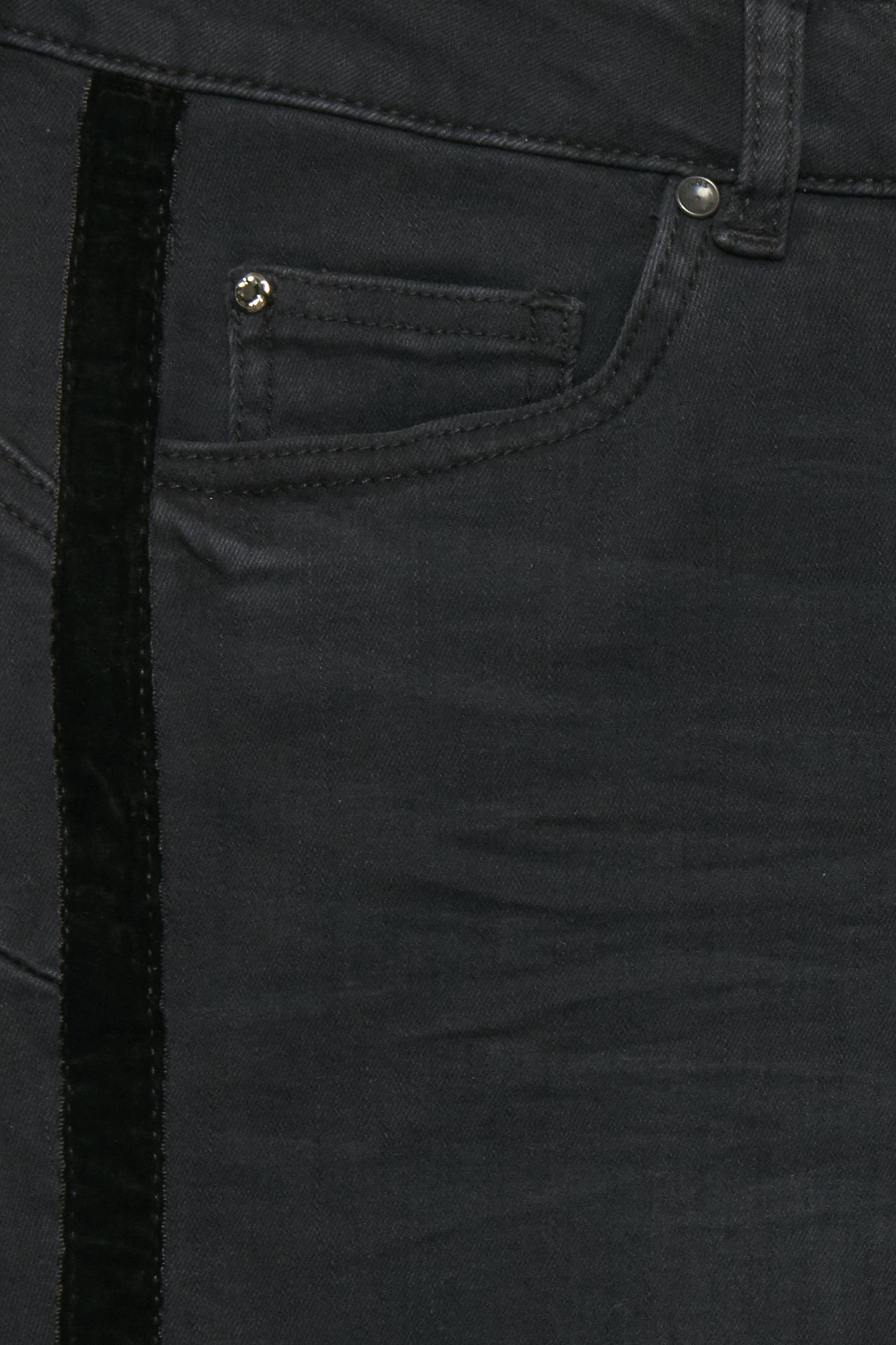 Sort denim Jeans fra Pulz Jeans – Køb Sort denim Jeans fra str. 25-35 her
