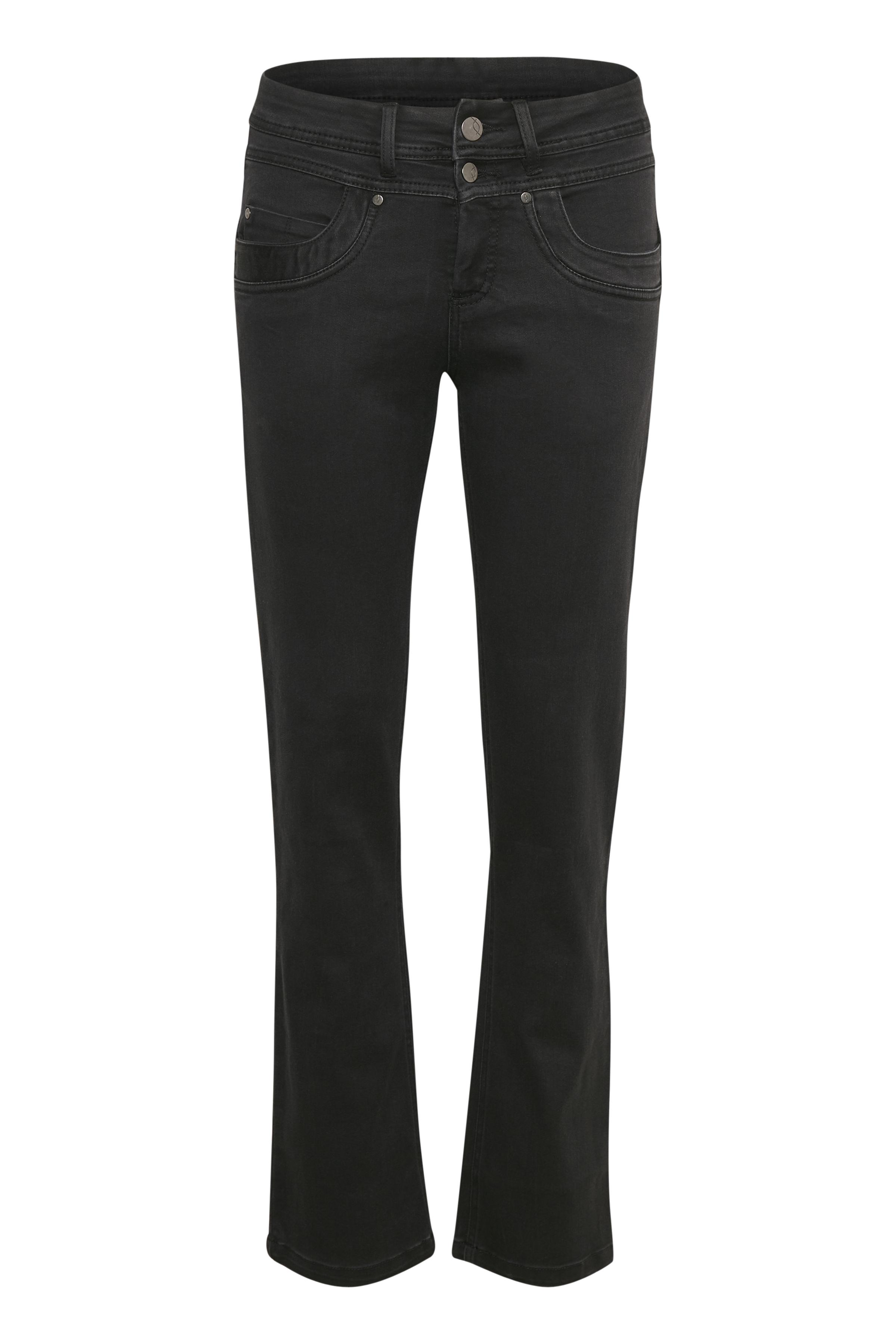 Fransa Dame Lækre Zotin jeans  - Sort denim