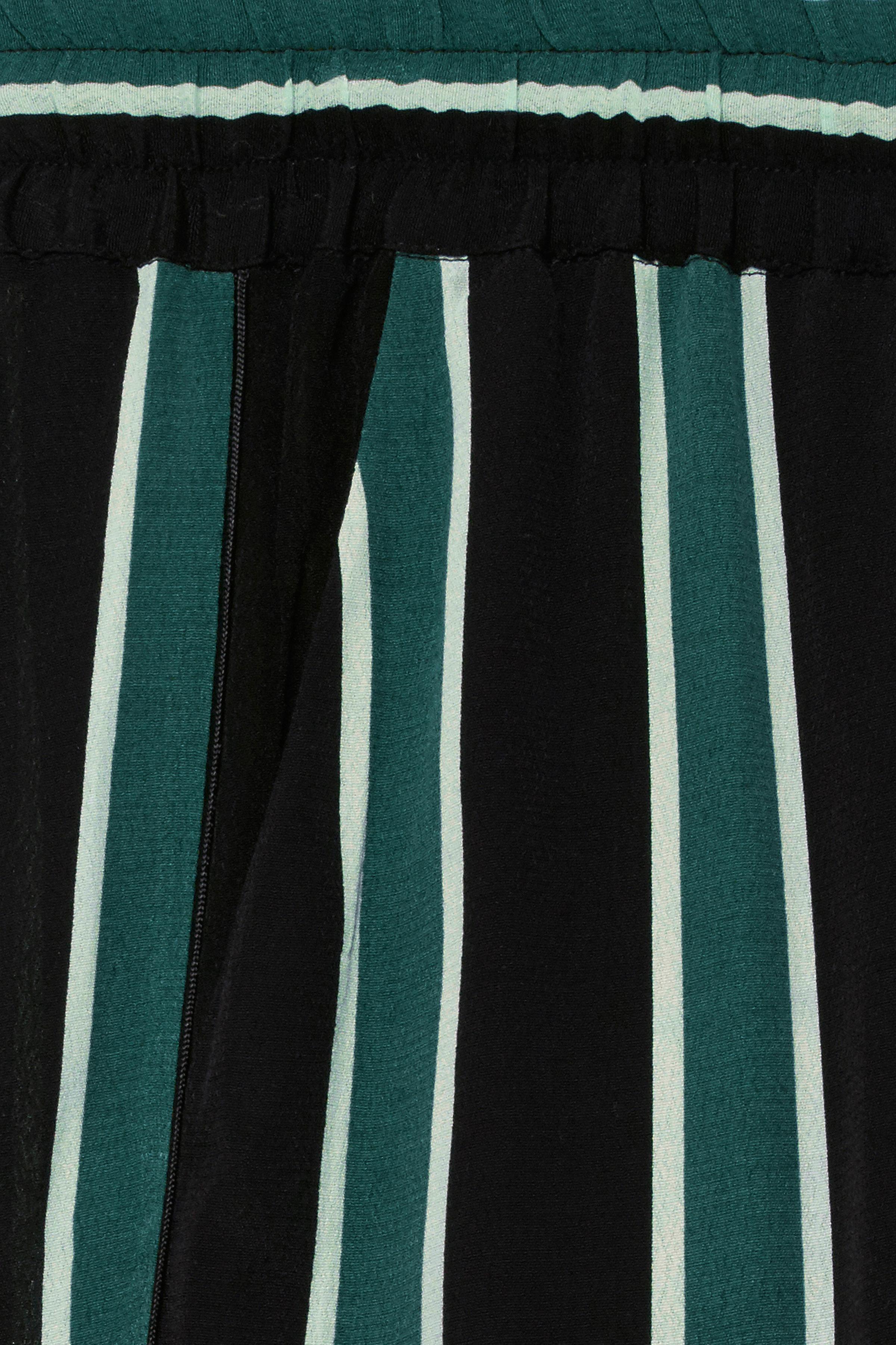 Sort/flaskegrøn Casual bukser fra b.young – Køb Sort/flaskegrøn Casual bukser fra str. 34-46 her